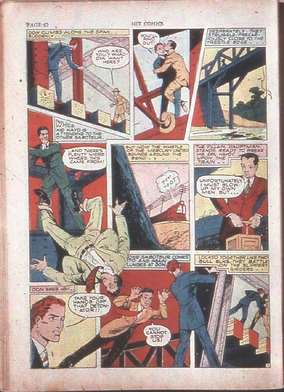 Read online Hit Comics comic -  Issue #15 - 64