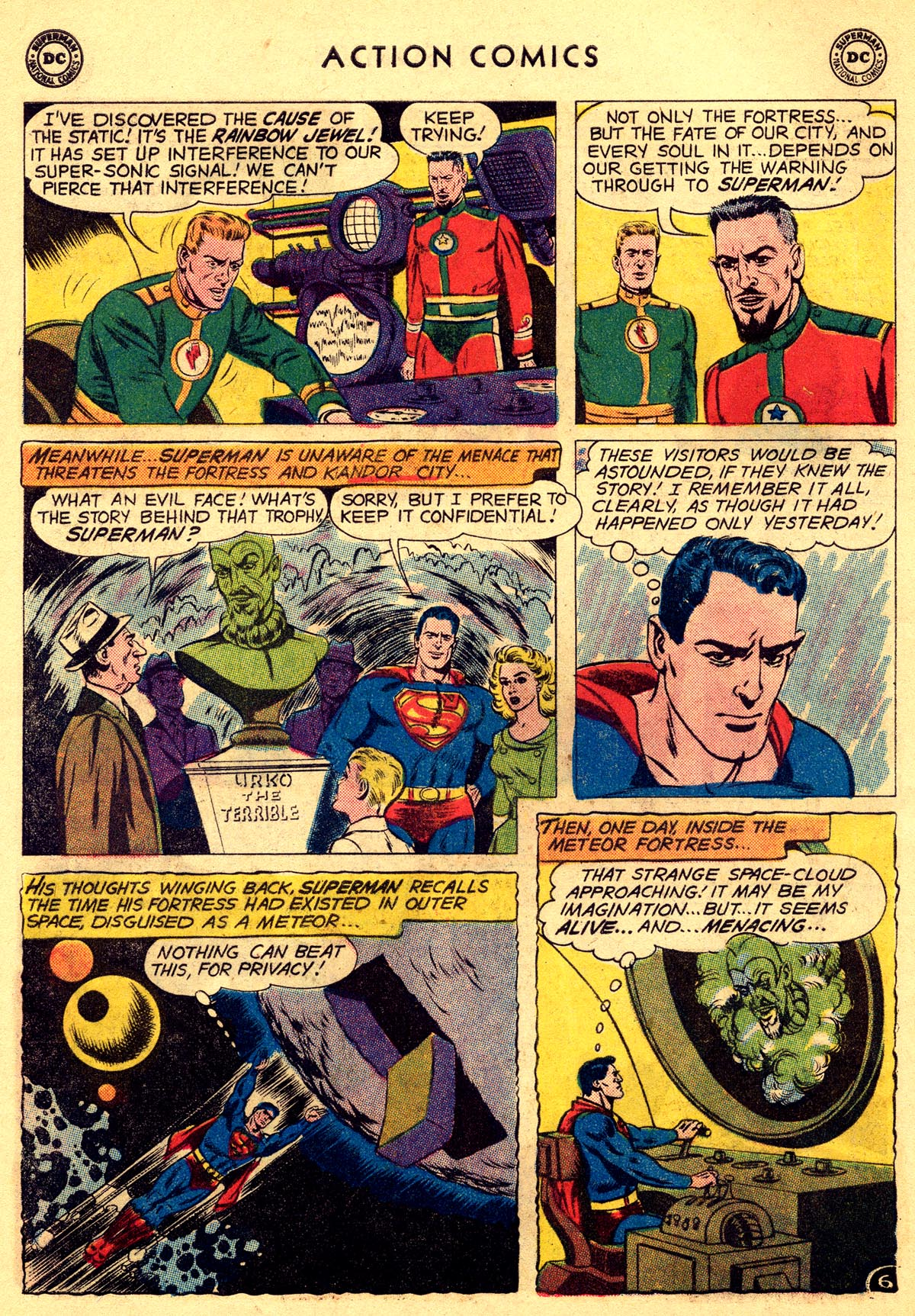 Read online Action Comics (1938) comic -  Issue #261 - 8