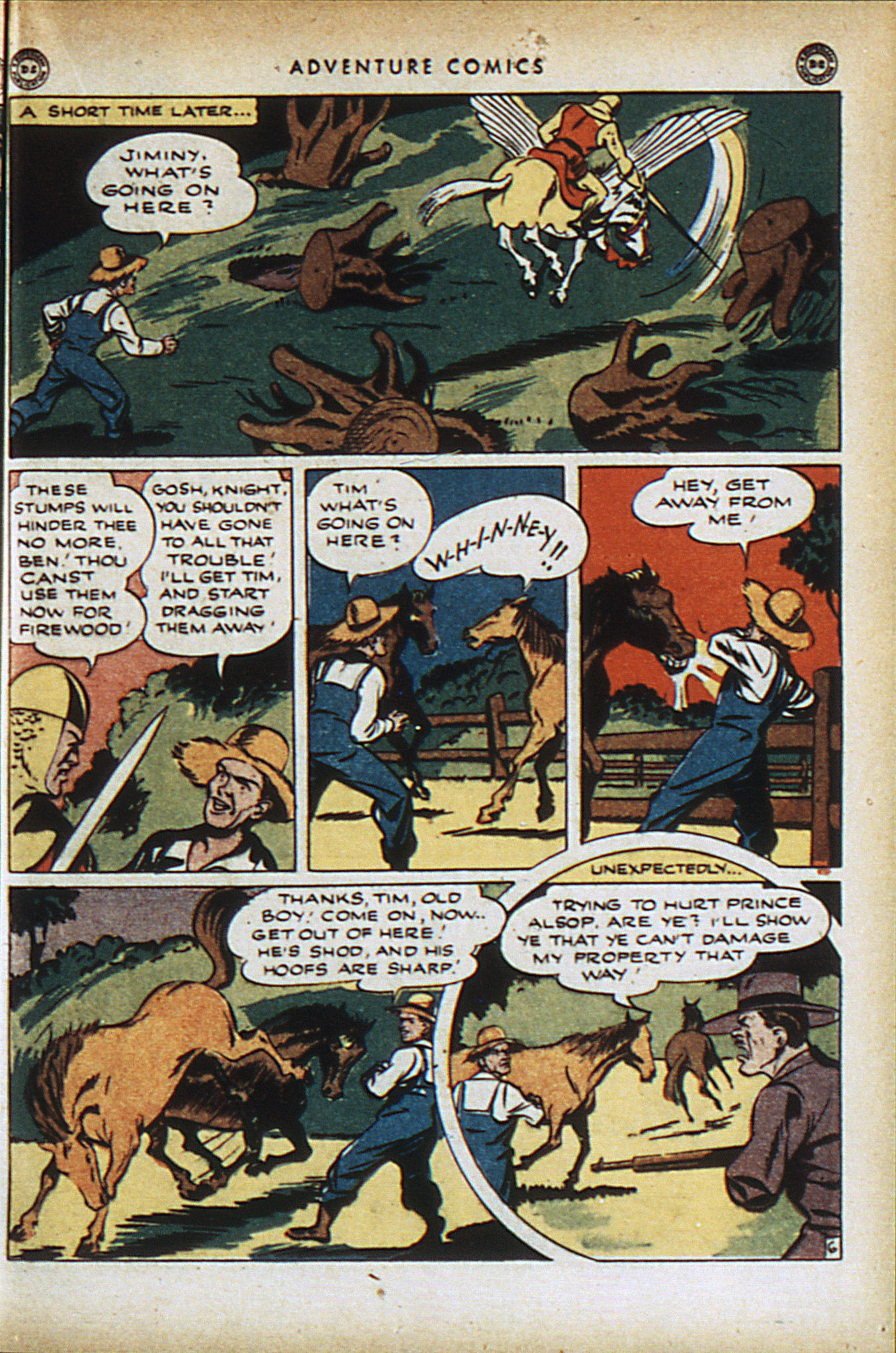 Read online Adventure Comics (1938) comic -  Issue #95 - 20