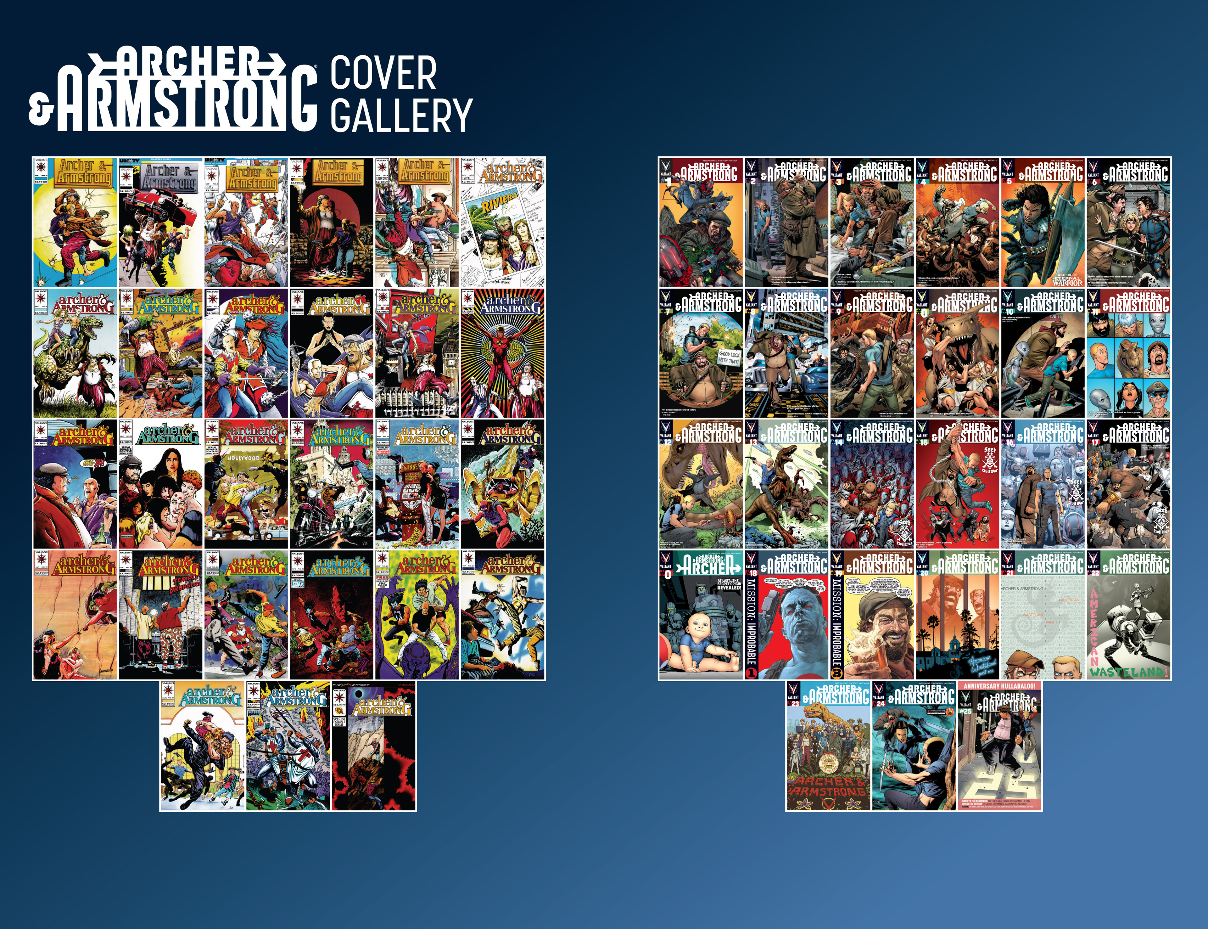 Read online Archer and Armstrong comic -  Issue #25 - 37