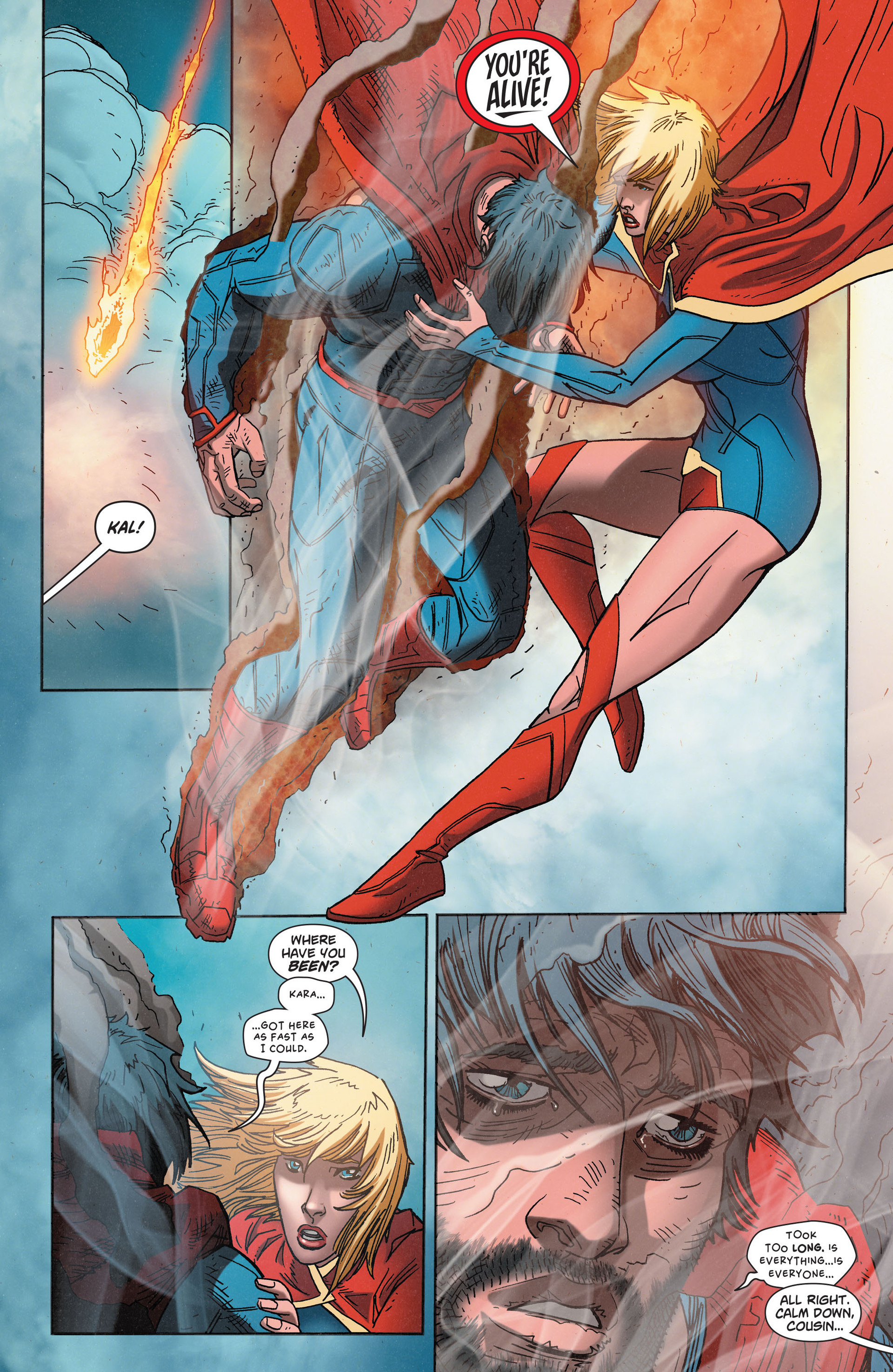 Read online Action Comics (2011) comic -  Issue #35 - 5