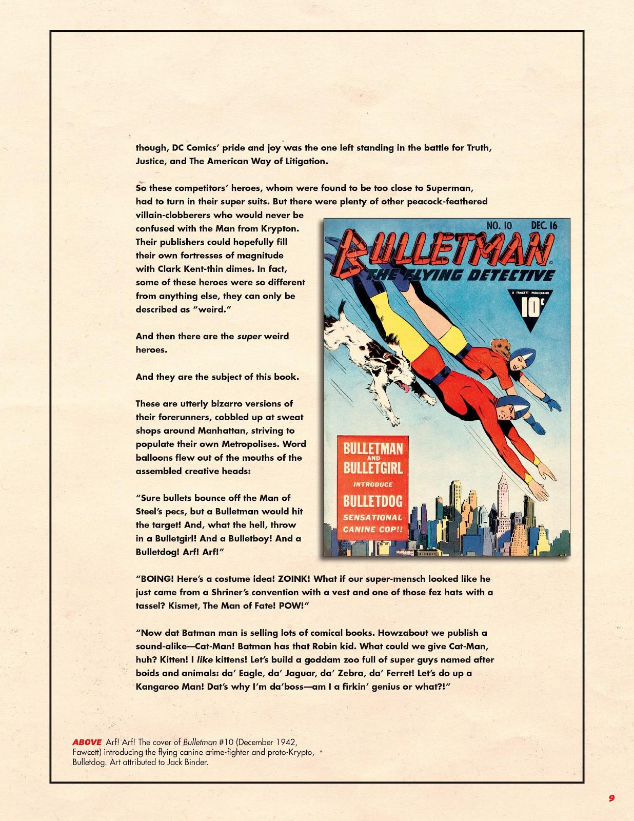 Read online Super Weird Heroes comic -  Issue # TPB 1 (Part 1) - 10