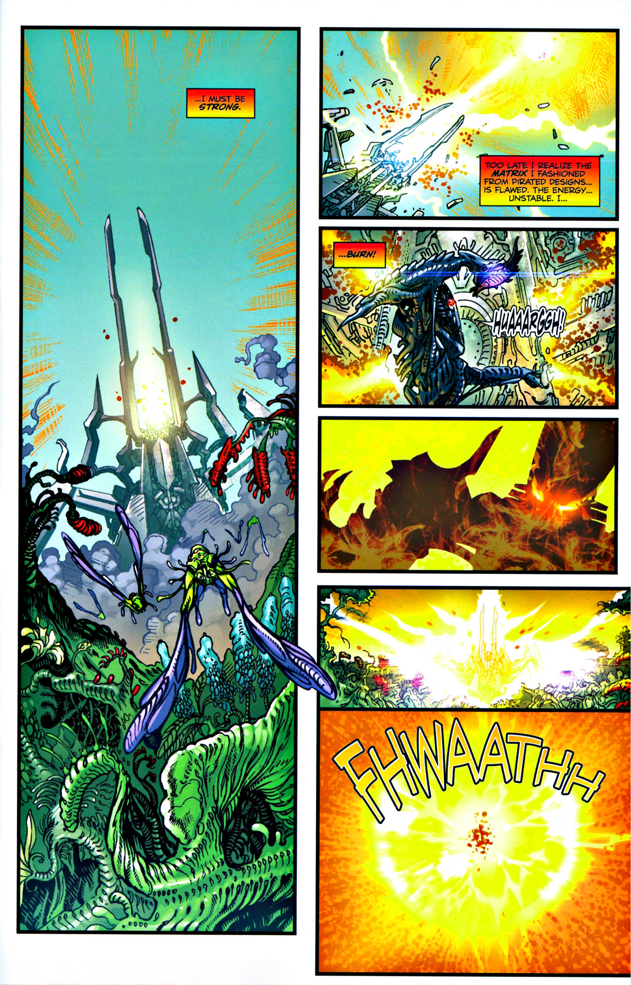 Read online Transformers: Tales of The Fallen comic -  Issue #4 - 8