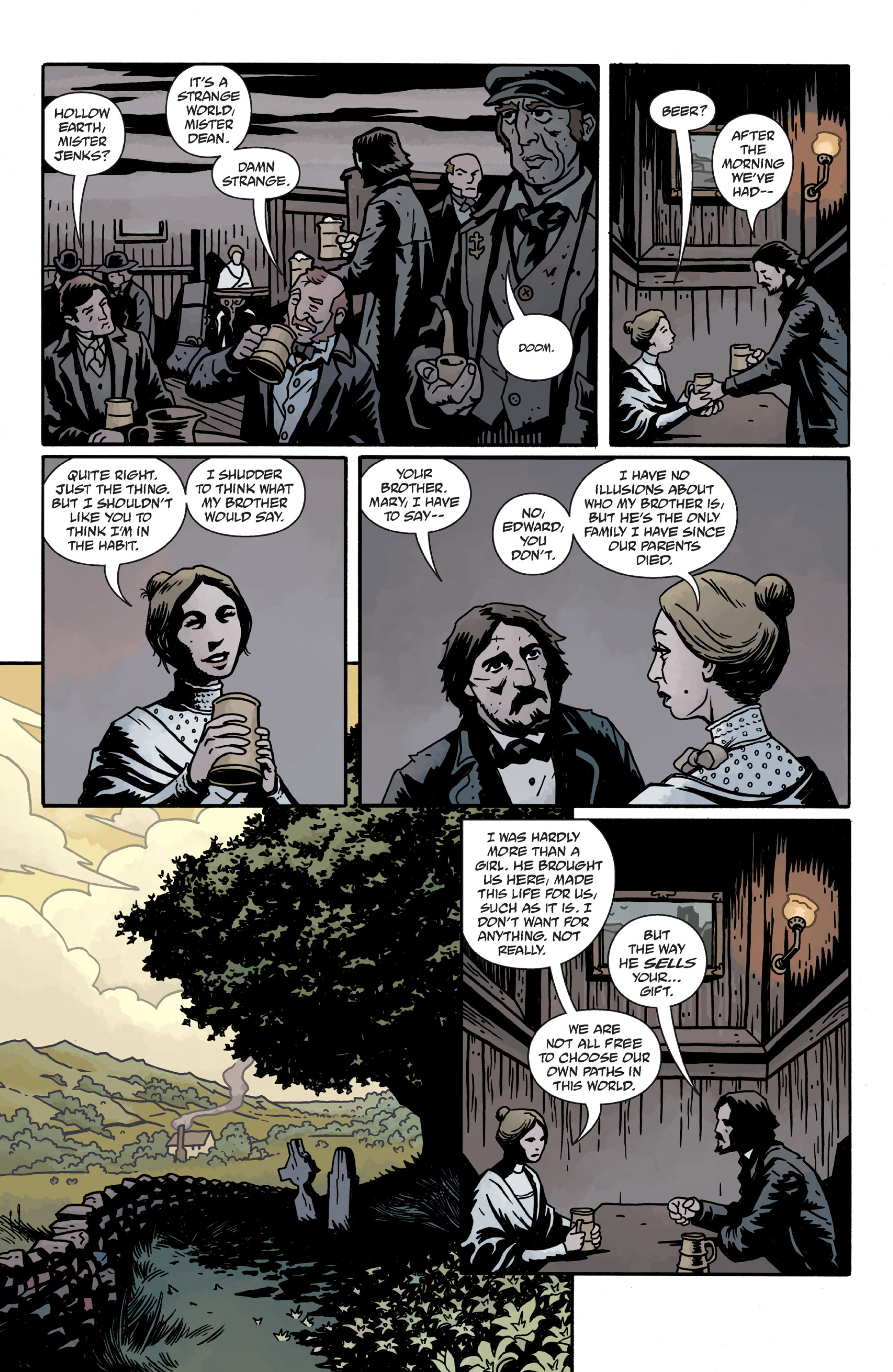 Read online Sir Edward Grey, Witchfinder: In the Service of Angels comic -  Issue # TPB - 91