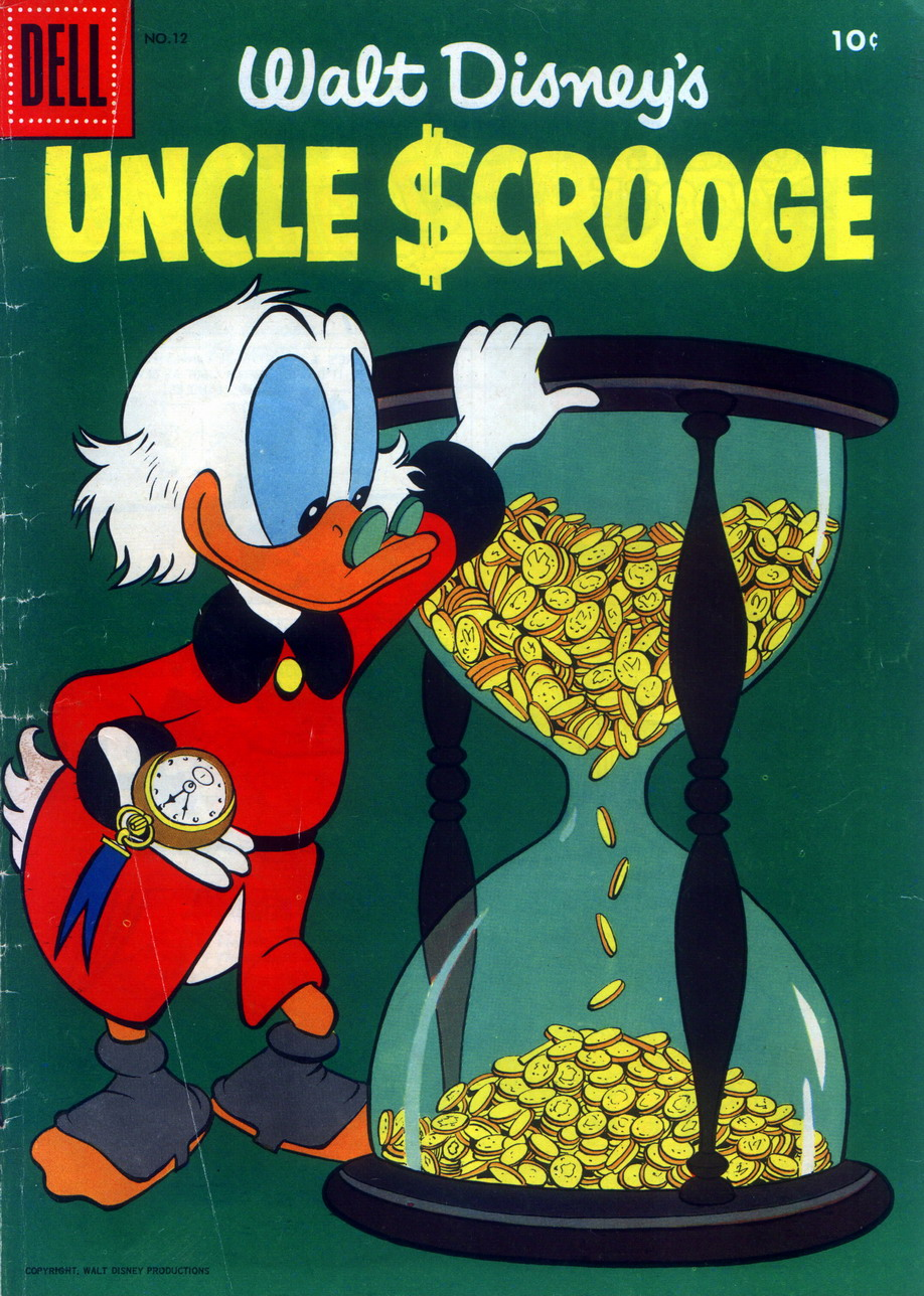Read online Uncle Scrooge (1953) comic -  Issue #12 - 1