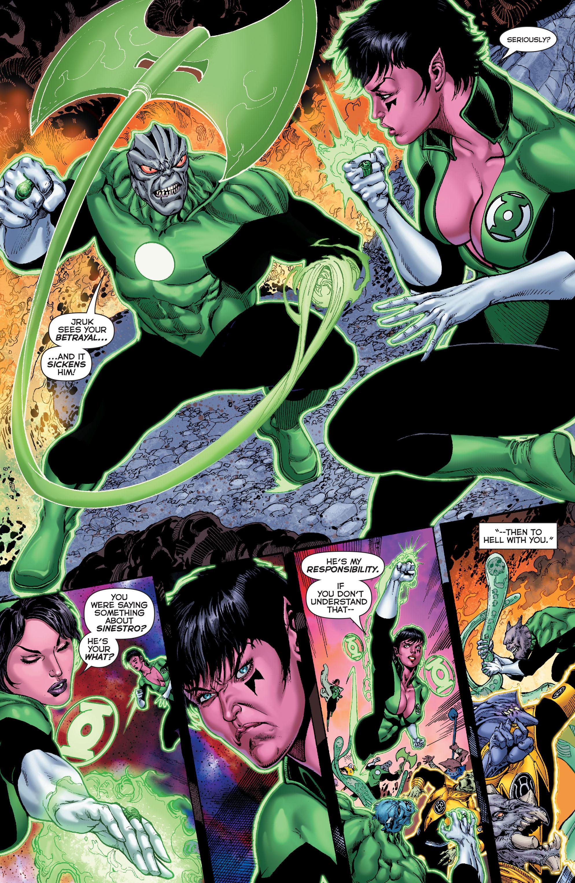 Read online Sinestro comic -  Issue #7 - 13