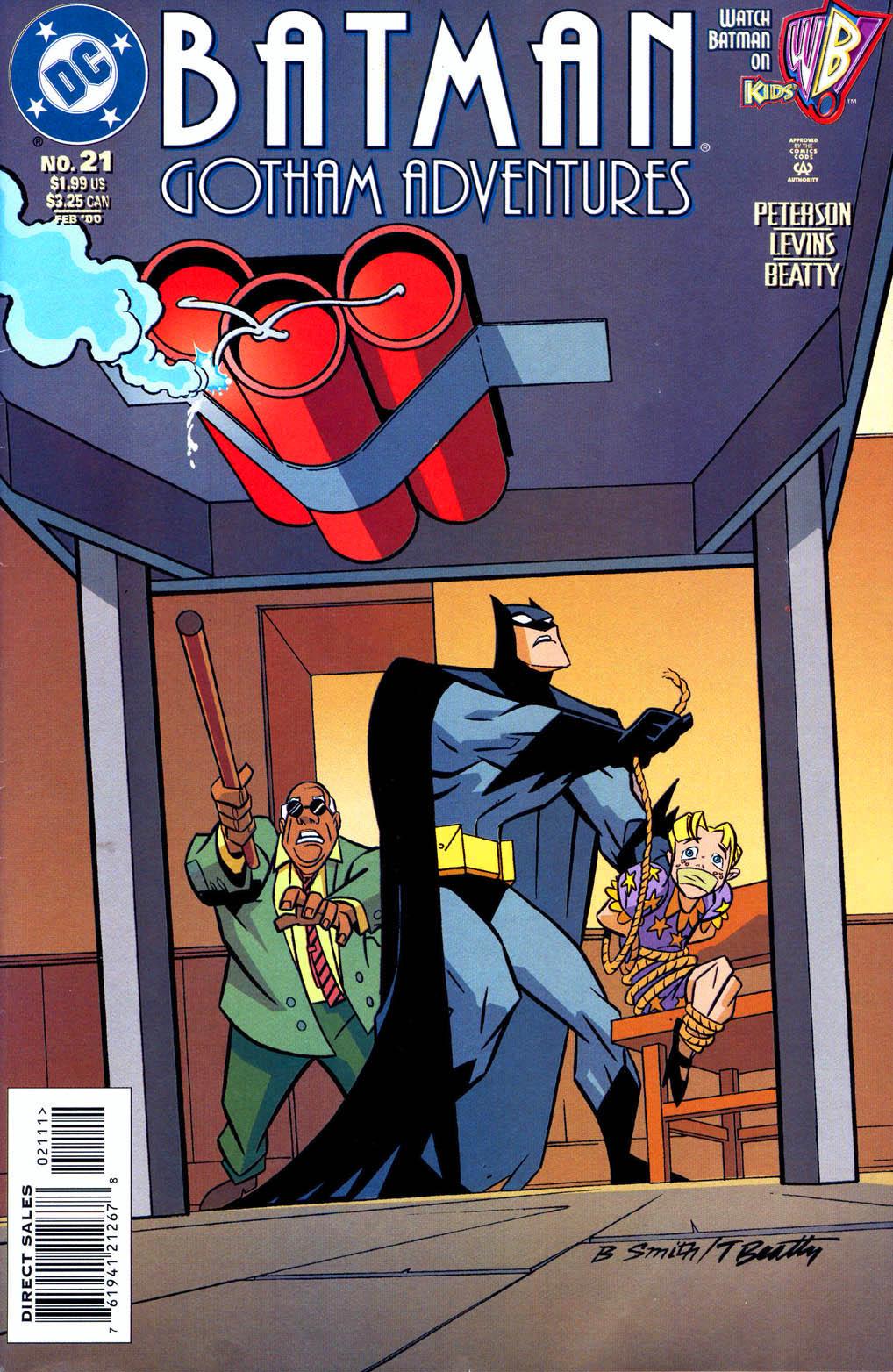 Batman: Gotham Adventures issue 21 - Page 1