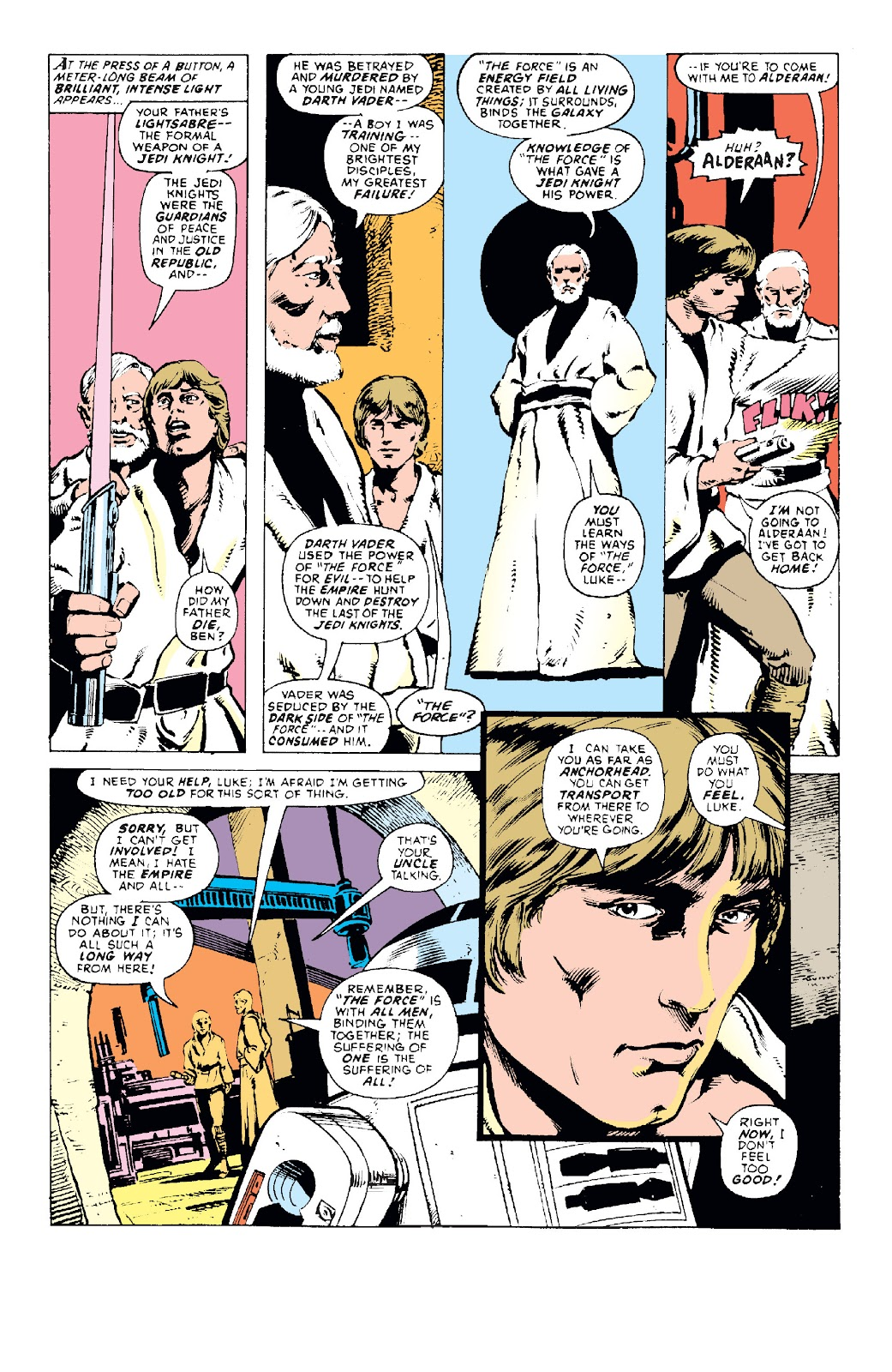 Read online Star Wars Legends: The Original Marvel Years - Epic Collection comic -  Issue # TPB 1 (Part 1) - 28