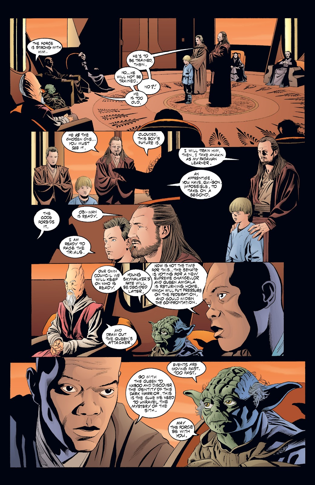 Read online Star Wars Legends: Rise of the Sith - Epic Collection comic -  Issue # TPB 2 (Part 4) - 7