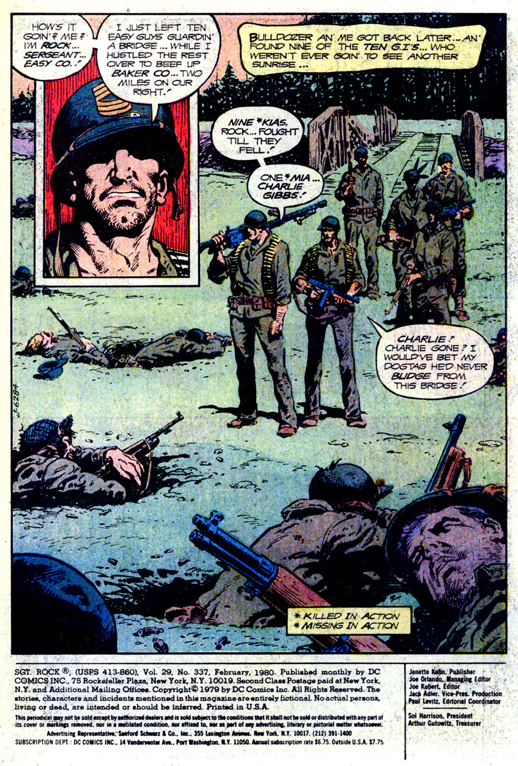 Read online Sgt. Rock comic -  Issue #337 - 2