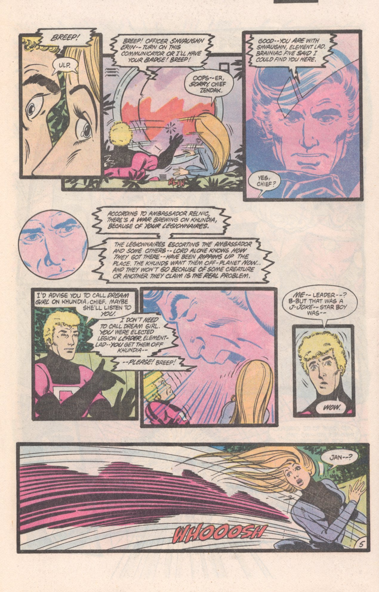 Legion of Super-Heroes (1980) 310 Page 5