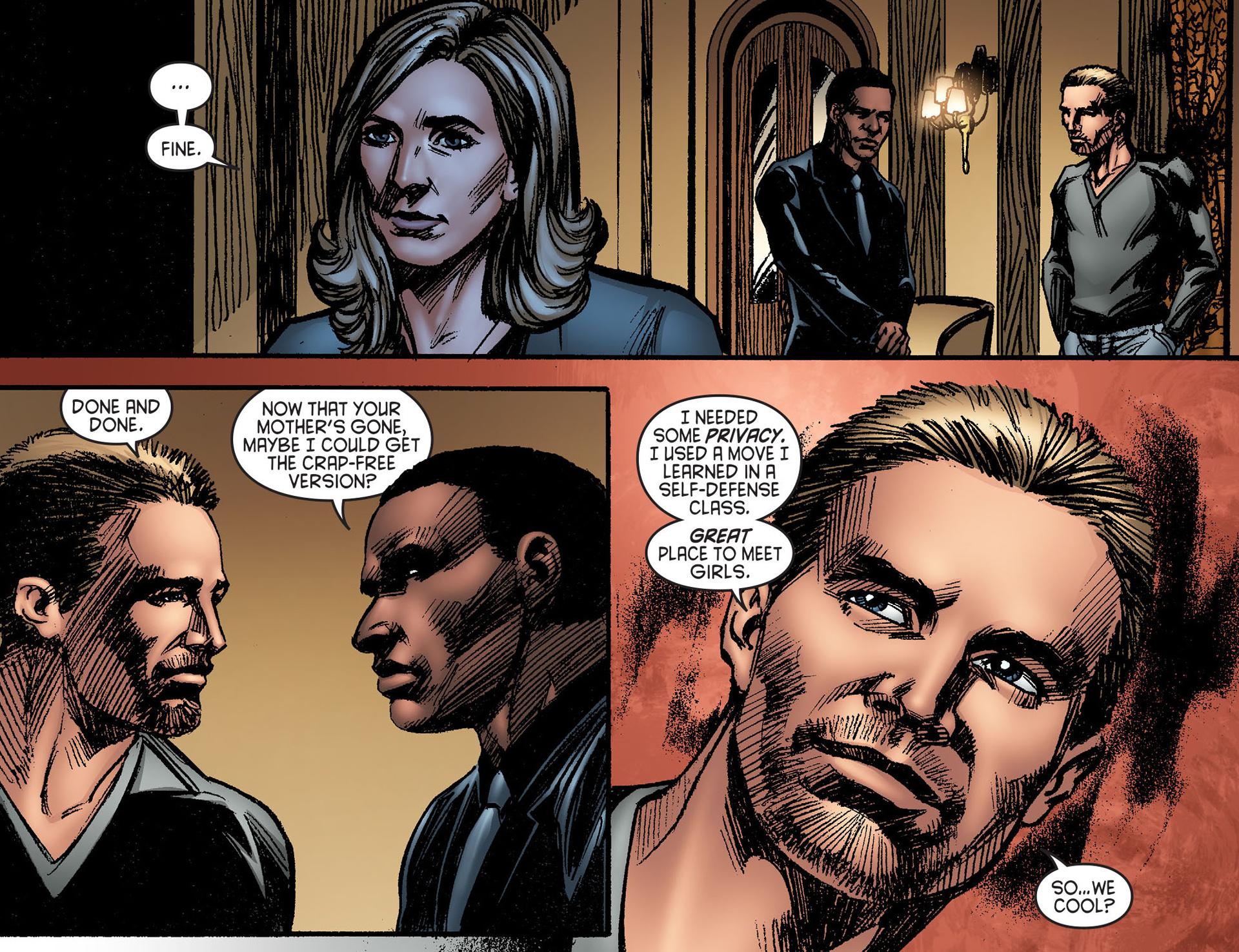 Read online Arrow [II] comic -  Issue #25 - 9