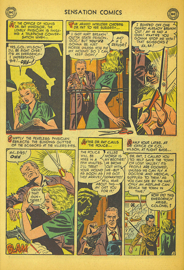Read online Sensation (Mystery) Comics comic -  Issue #104 - 42