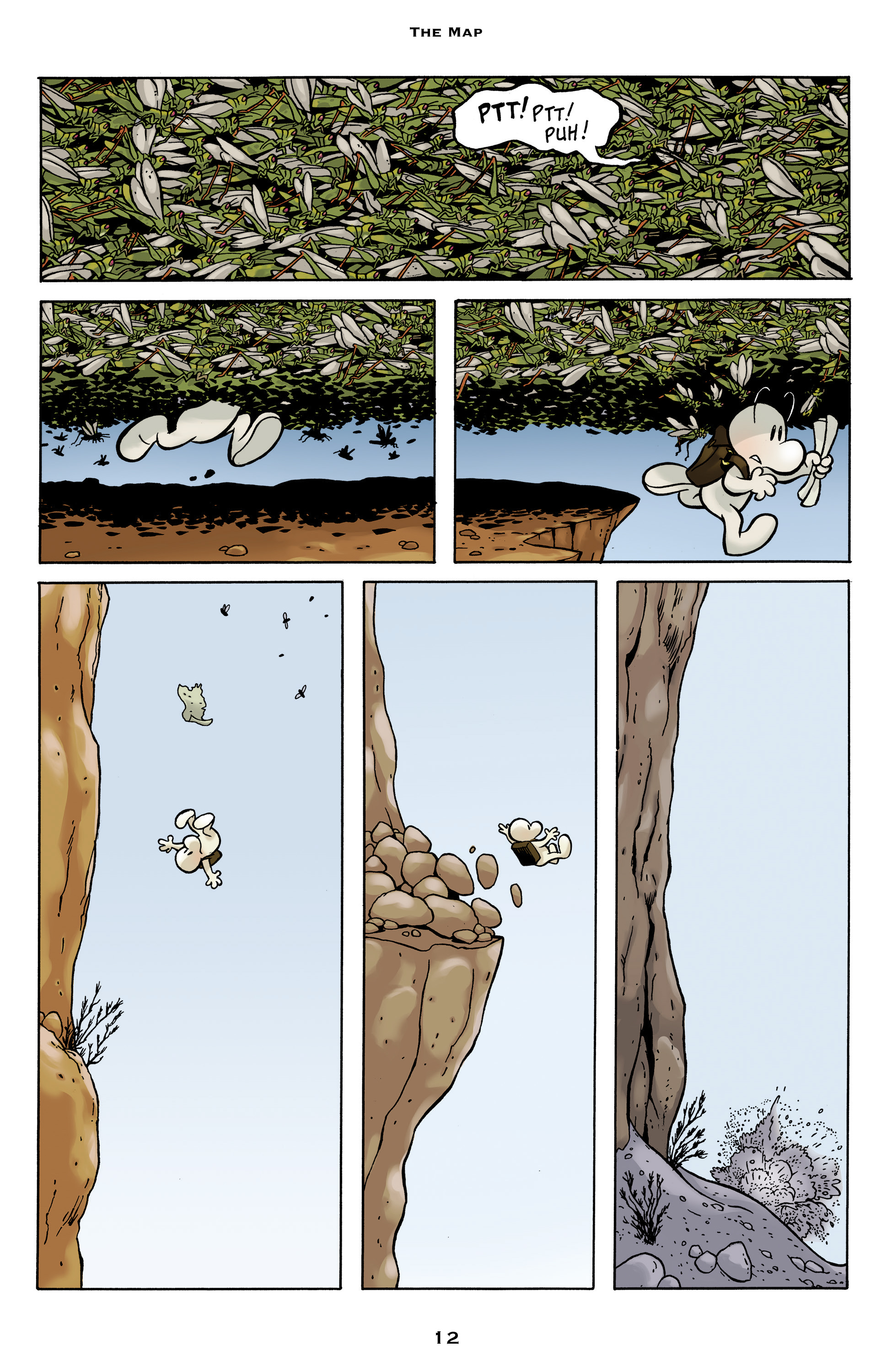 Read online Bone: Out From Boneville comic -  Issue # TPB - 12