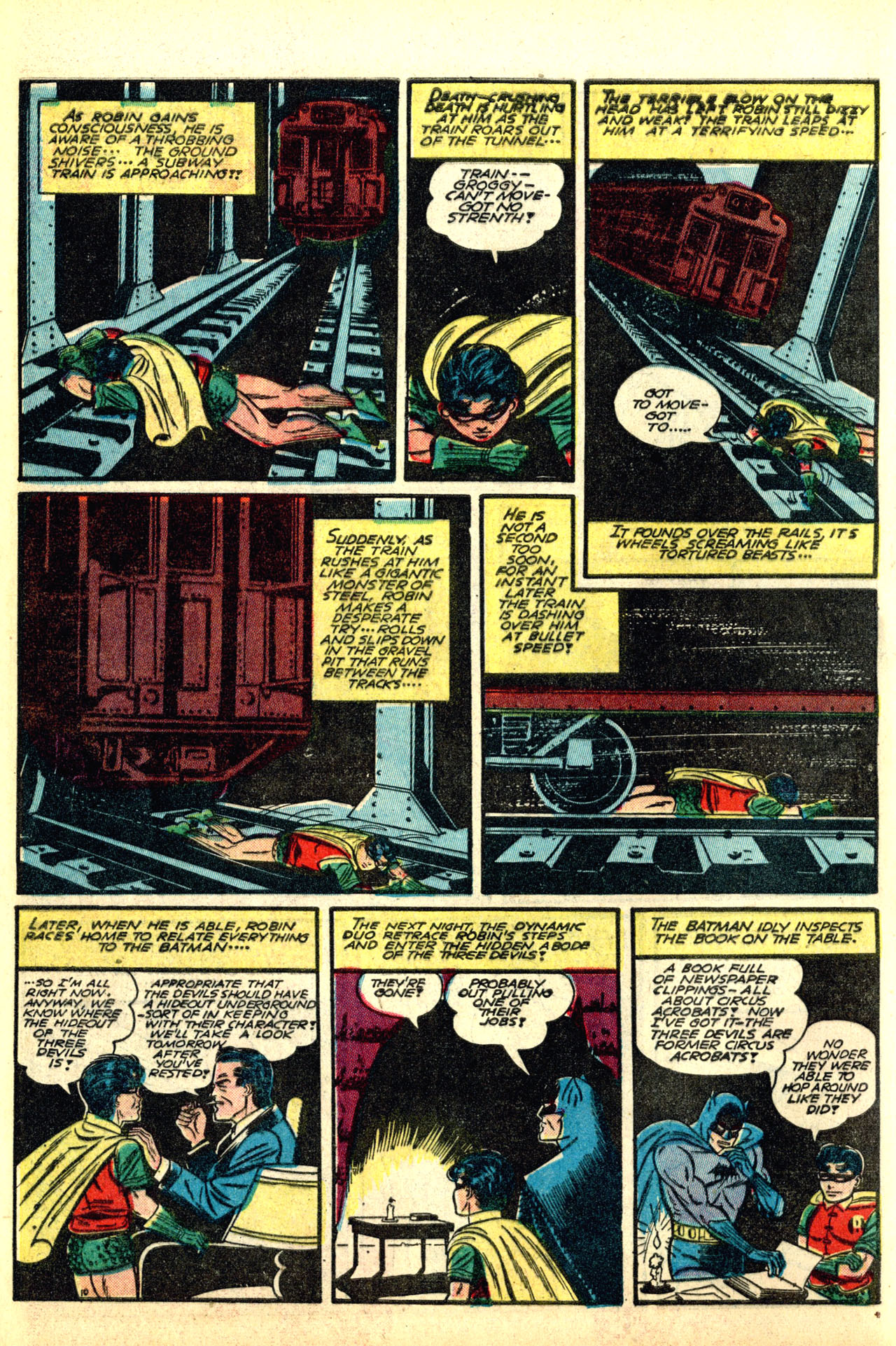 Read online Detective Comics (1937) comic -  Issue #50 - 12