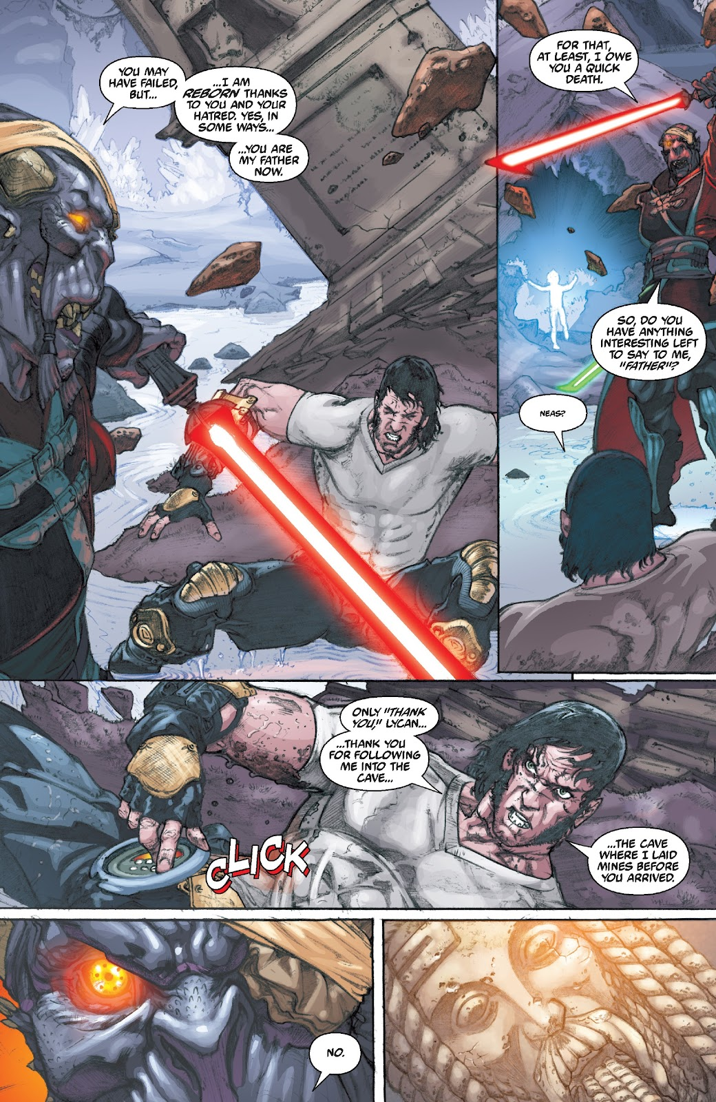 Read online Star Wars Legends Epic Collection: The Menace Revealed comic -  Issue # TPB (Part 5) - 64