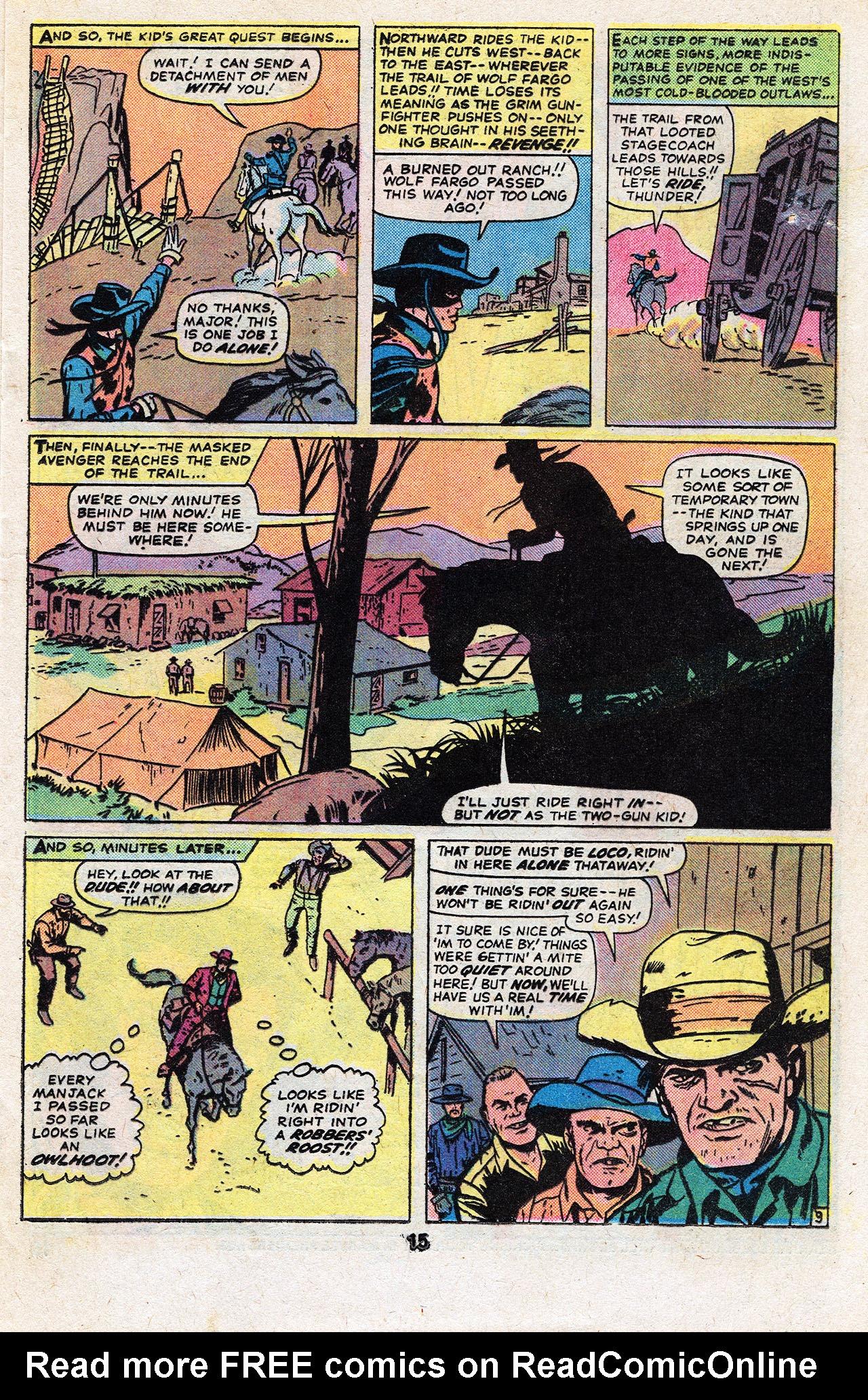 Read online Two-Gun Kid comic -  Issue #134 - 17