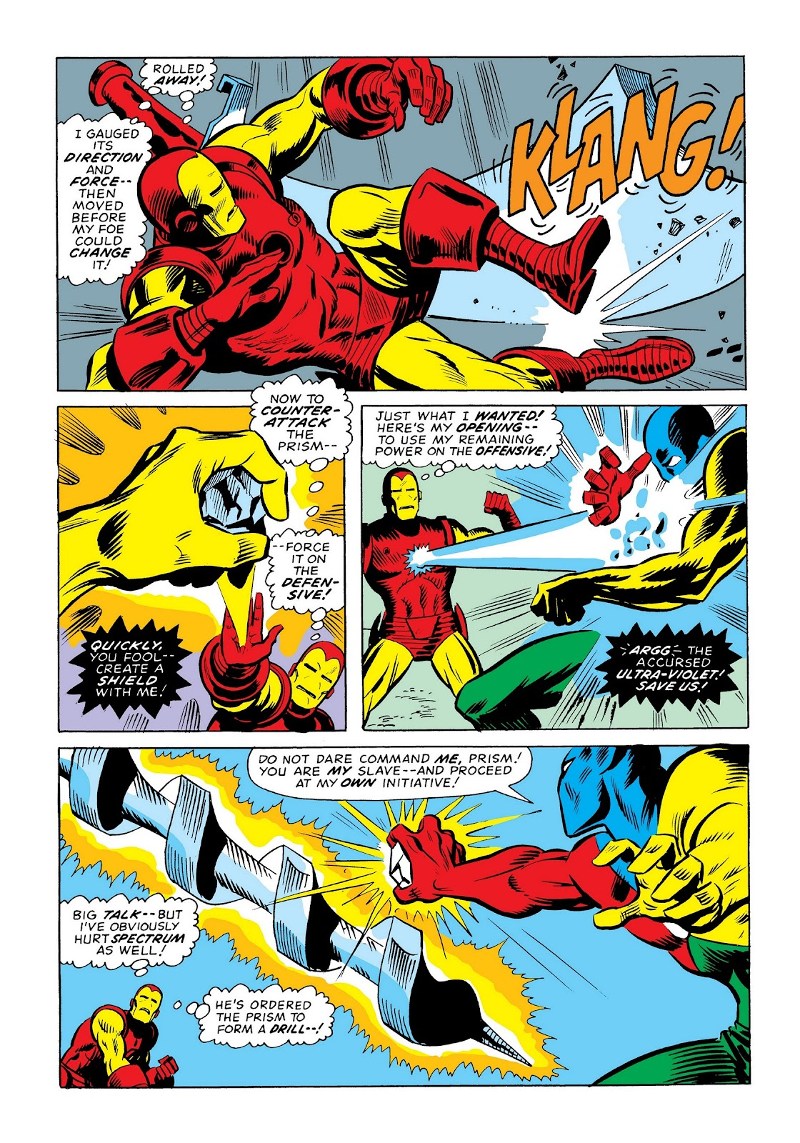 Read online Marvel Masterworks: The Invincible Iron Man comic -  Issue # TPB 9 (Part 3) - 42