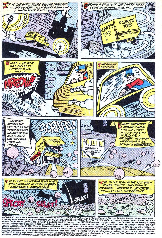 Madballs issue 1 - Page 2