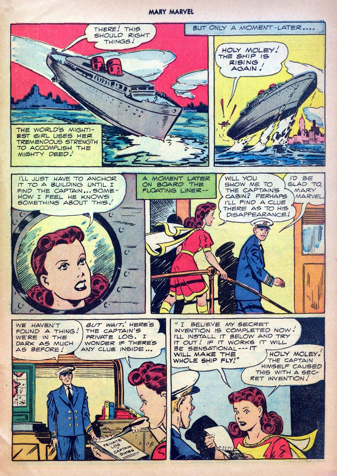 Read online Mary Marvel comic -  Issue #27 - 29