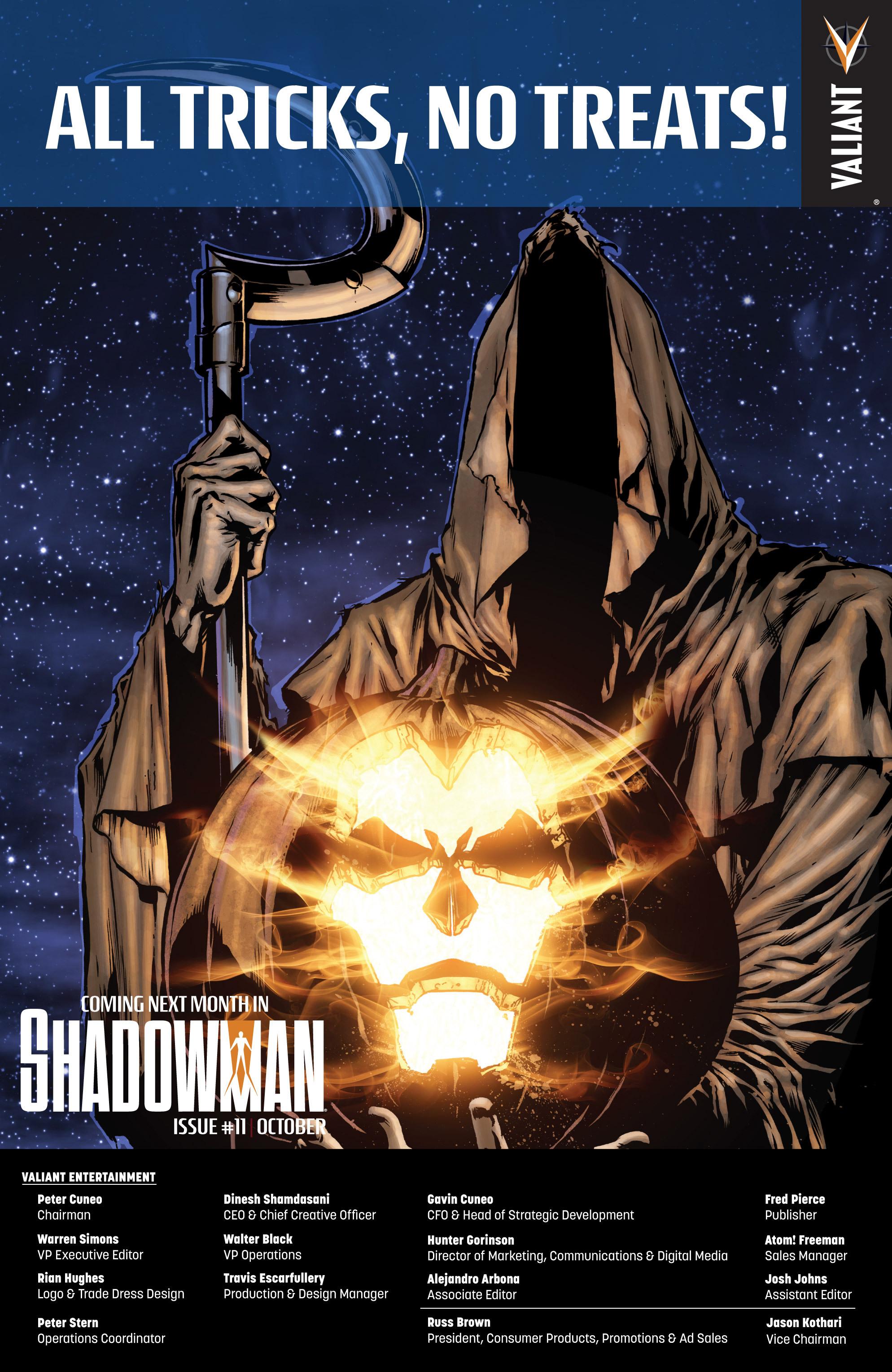 Read online Shadowman (2012) comic -  Issue #10 - 25