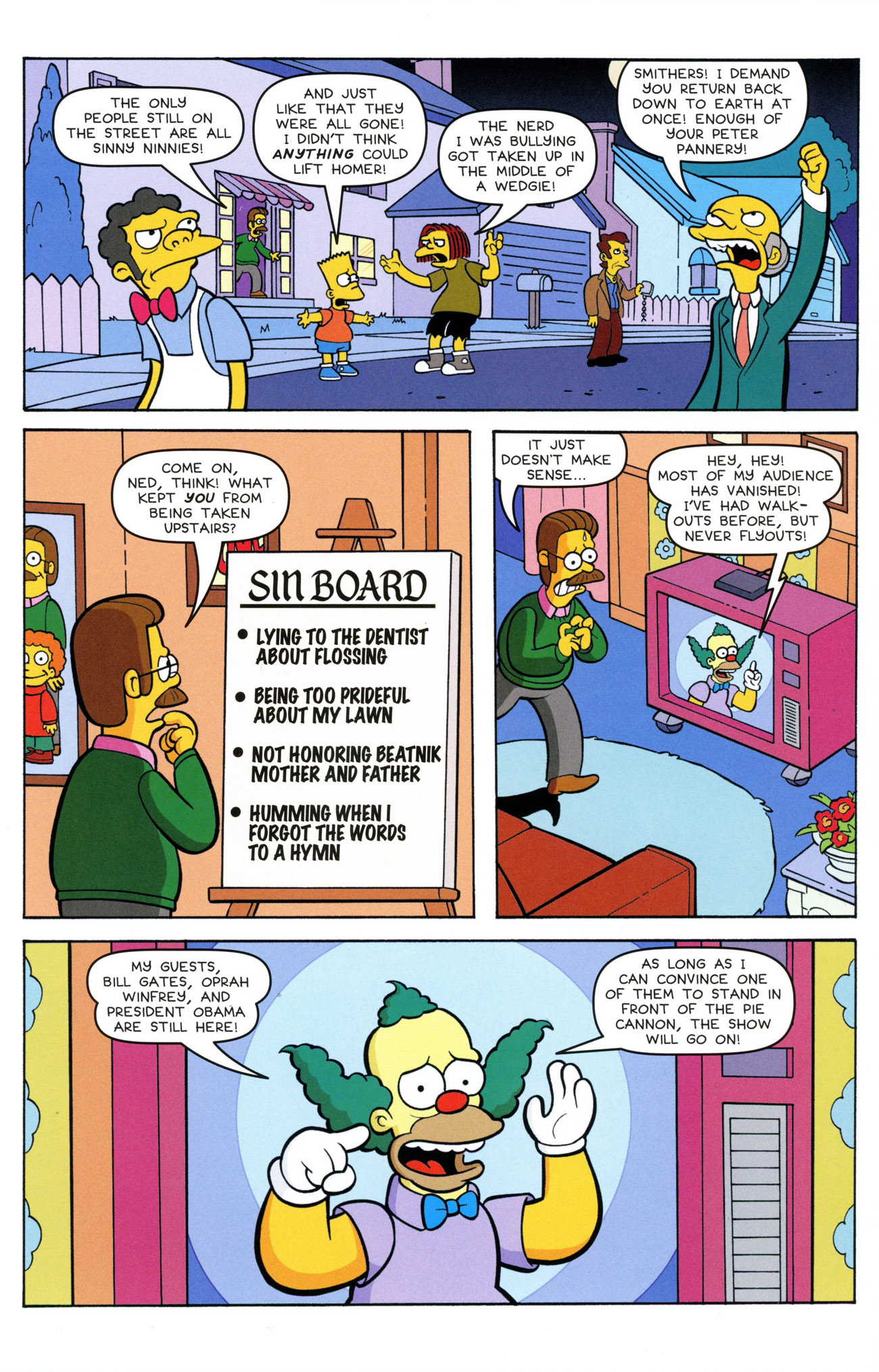 Read online Treehouse of Horror comic -  Issue #21 - 19
