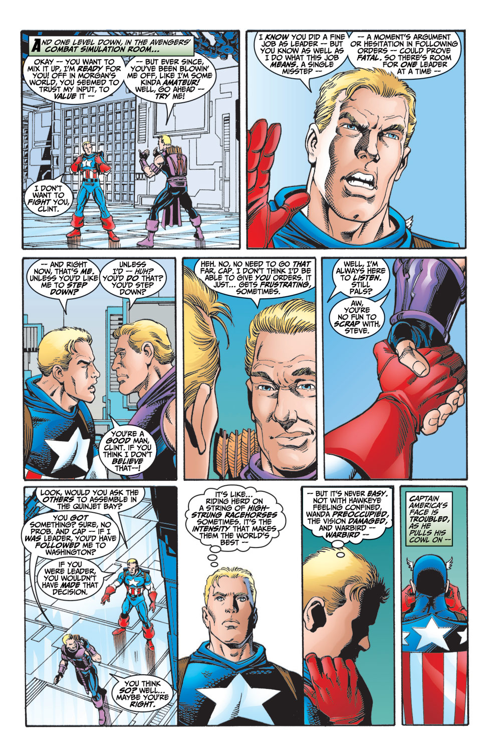 Read online Avengers (1998) comic -  Issue #6 - 6