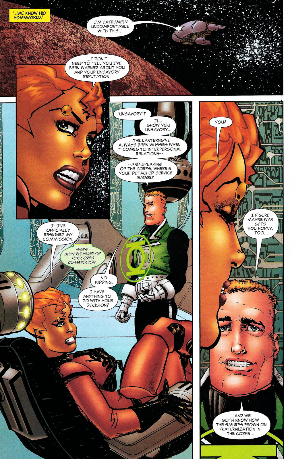 Read online Guy Gardner: Collateral Damage comic -  Issue #1 - 35