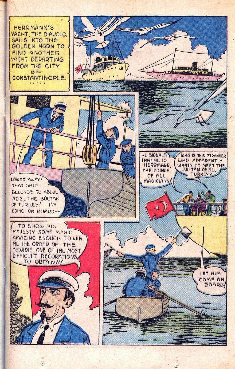 Read online Super-Magician Comics comic -  Issue #55 - 25