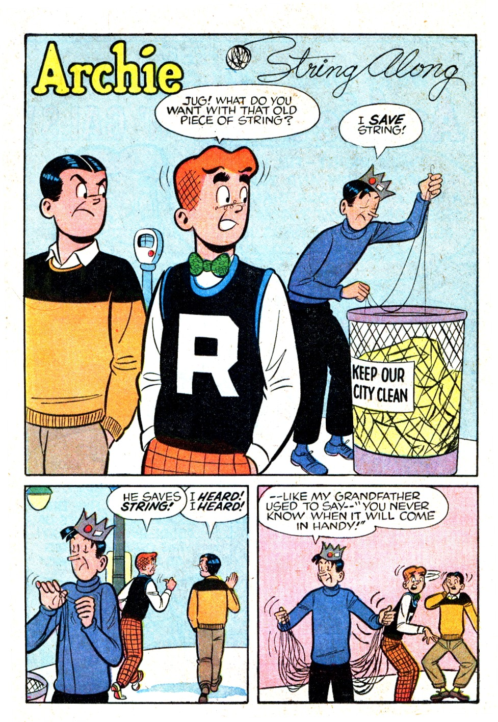 Read online Archie (1960) comic -  Issue #123 - 20