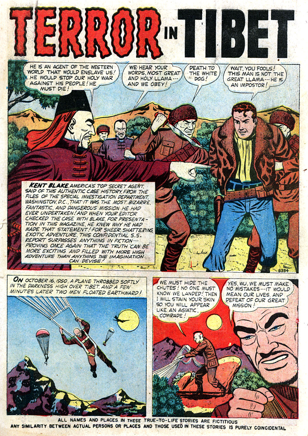 Kent Blake of the Secret Service issue 3 - Page 3