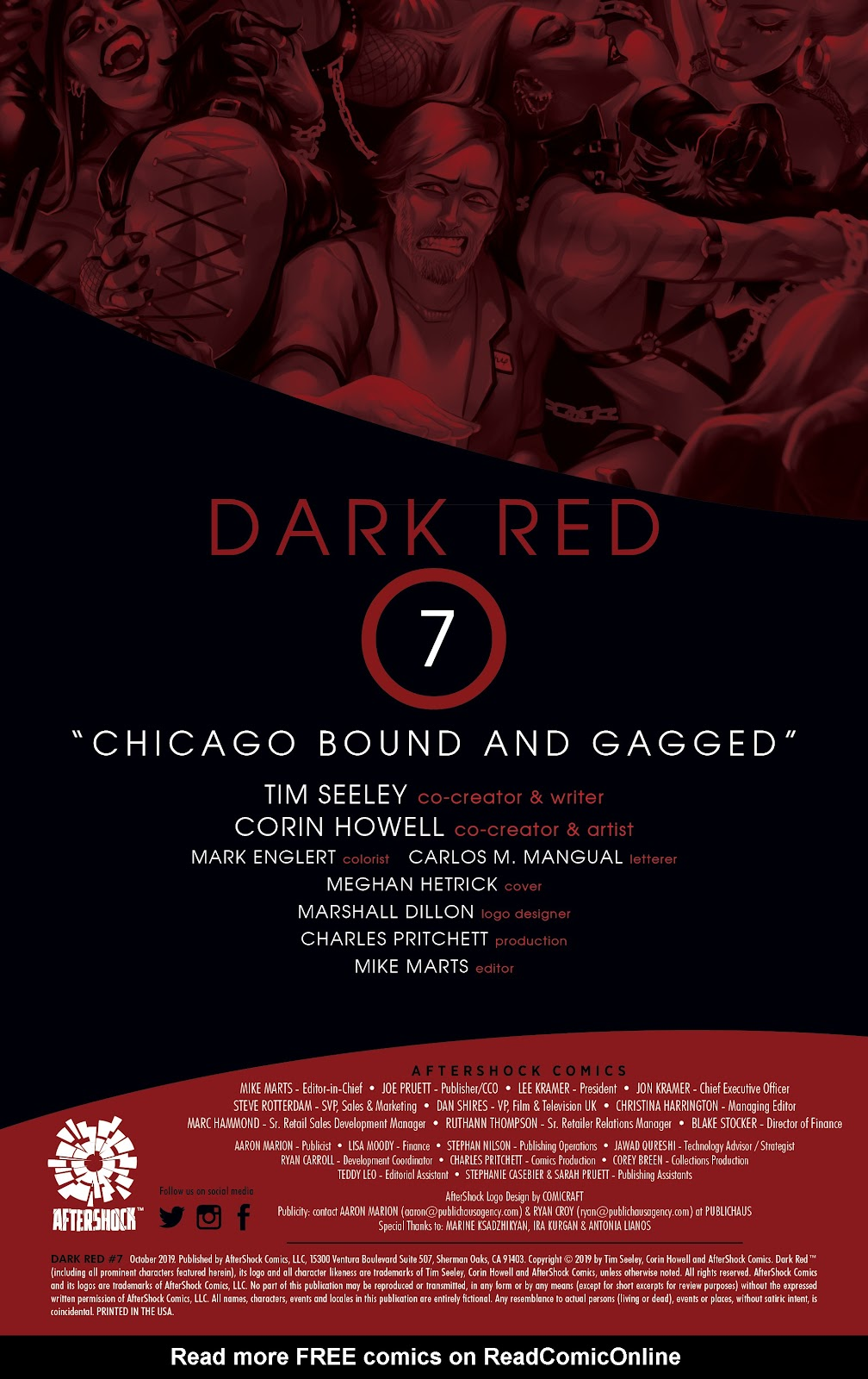 Read online Dark Red comic -  Issue #7 - 2