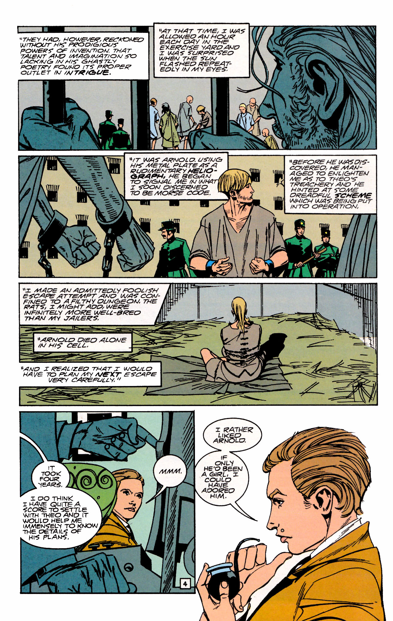 Read online Sebastian O comic -  Issue #3 - 6