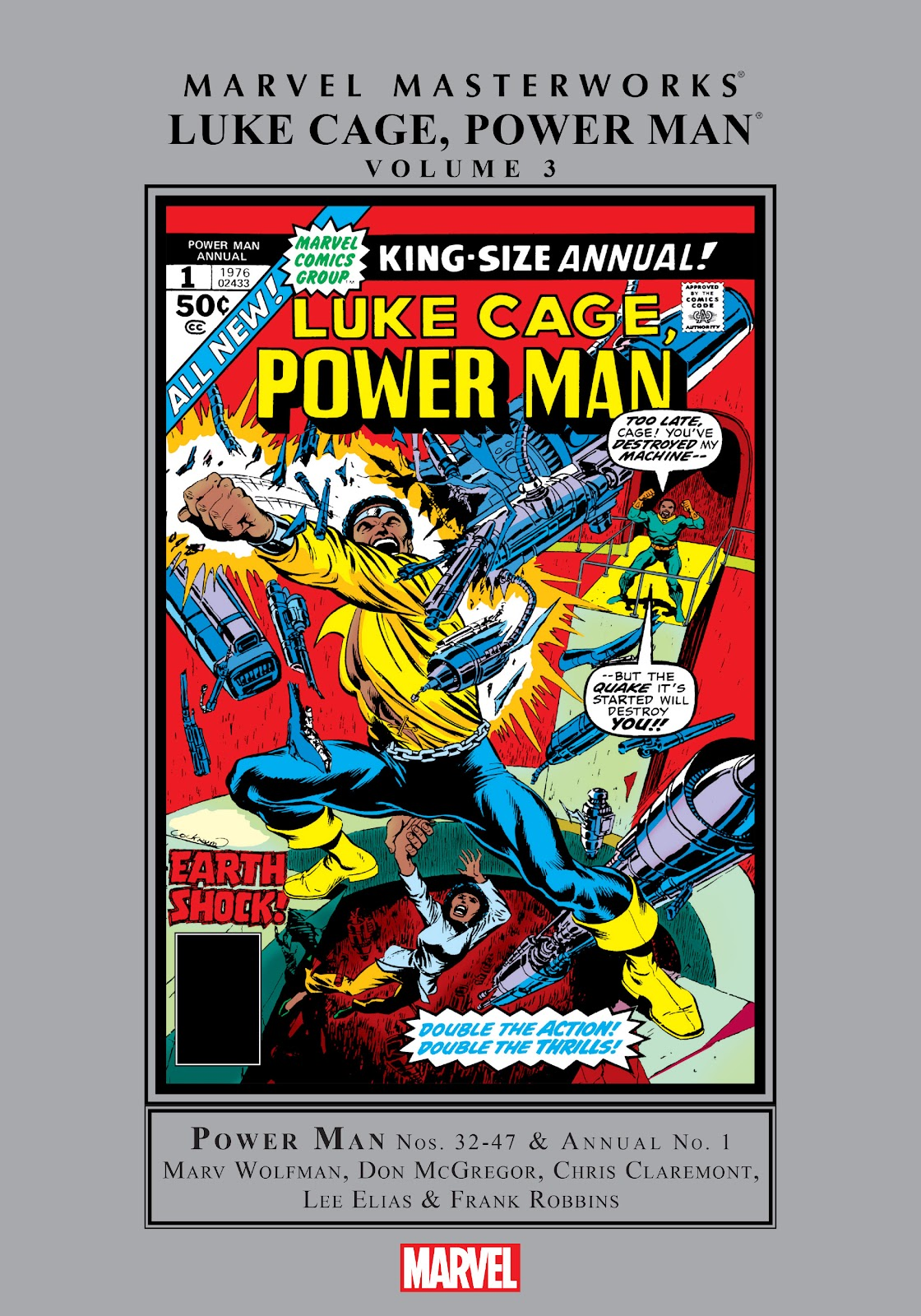 Read online Marvel Masterworks: Luke Cage, Power Man comic -  Issue # TPB 3 (Part 1) - 1