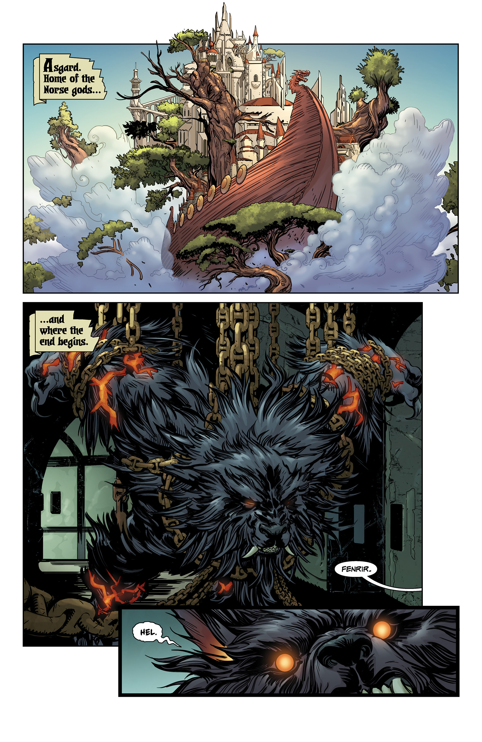 Read online SMITE: The Pantheon War comic -  Issue #1 - 3