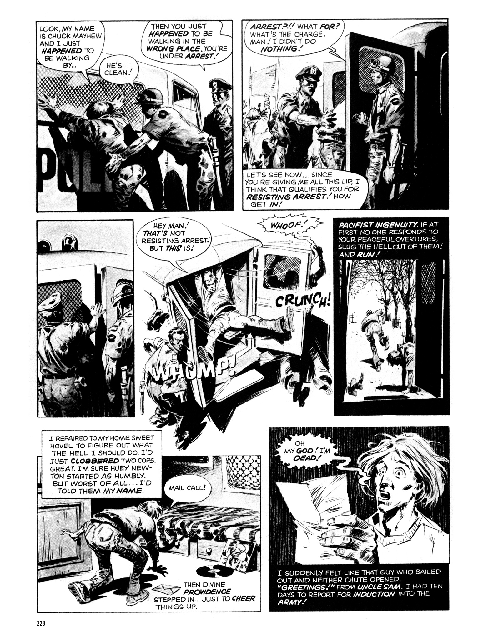 Read online Eerie Archives comic -  Issue # TPB 14 - 229