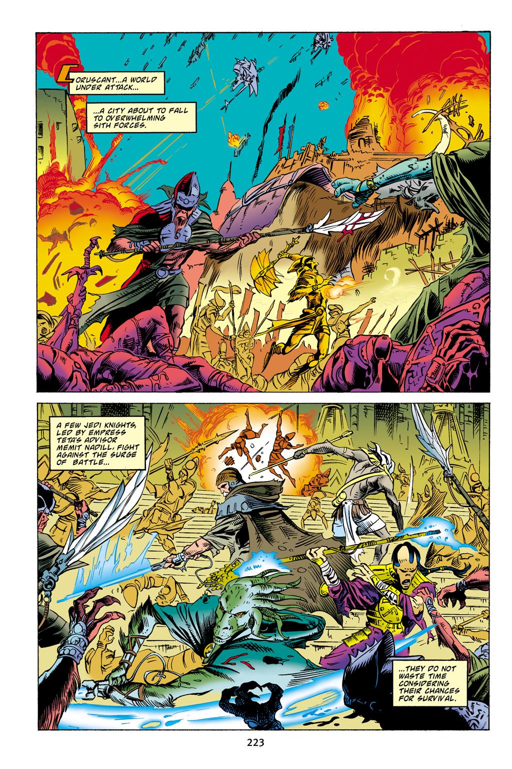 Read online Star Wars Omnibus comic -  Issue # Vol. 4 - 214