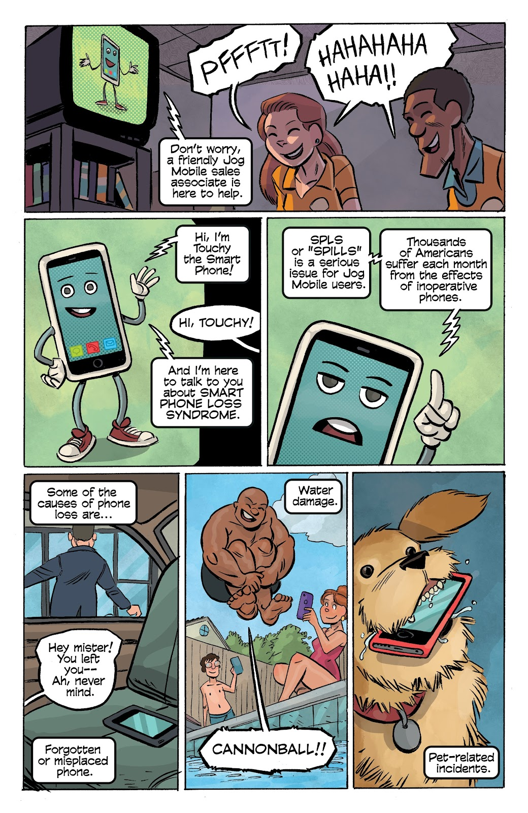 Read online Cellies comic -  Issue #7 - 18