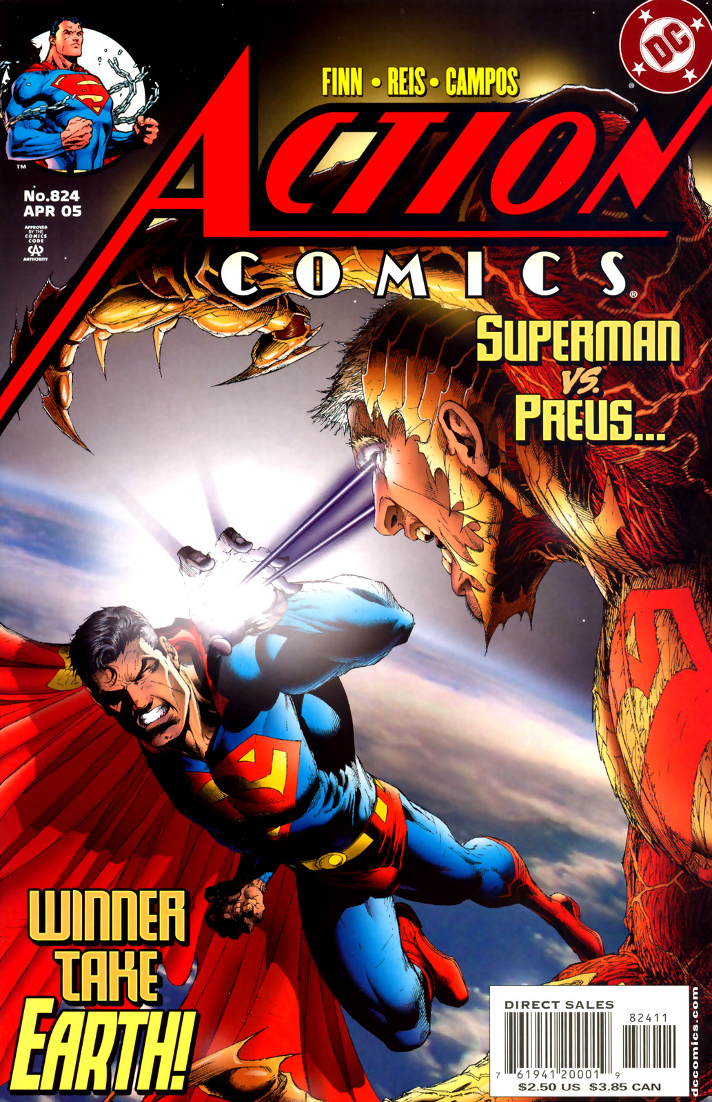 Read online Action Comics (1938) comic -  Issue #824 - 1