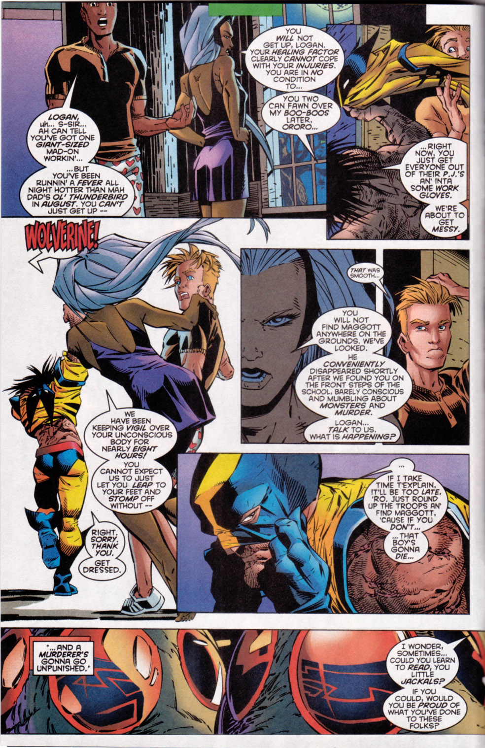 X-Men (1991) 75 Page 2