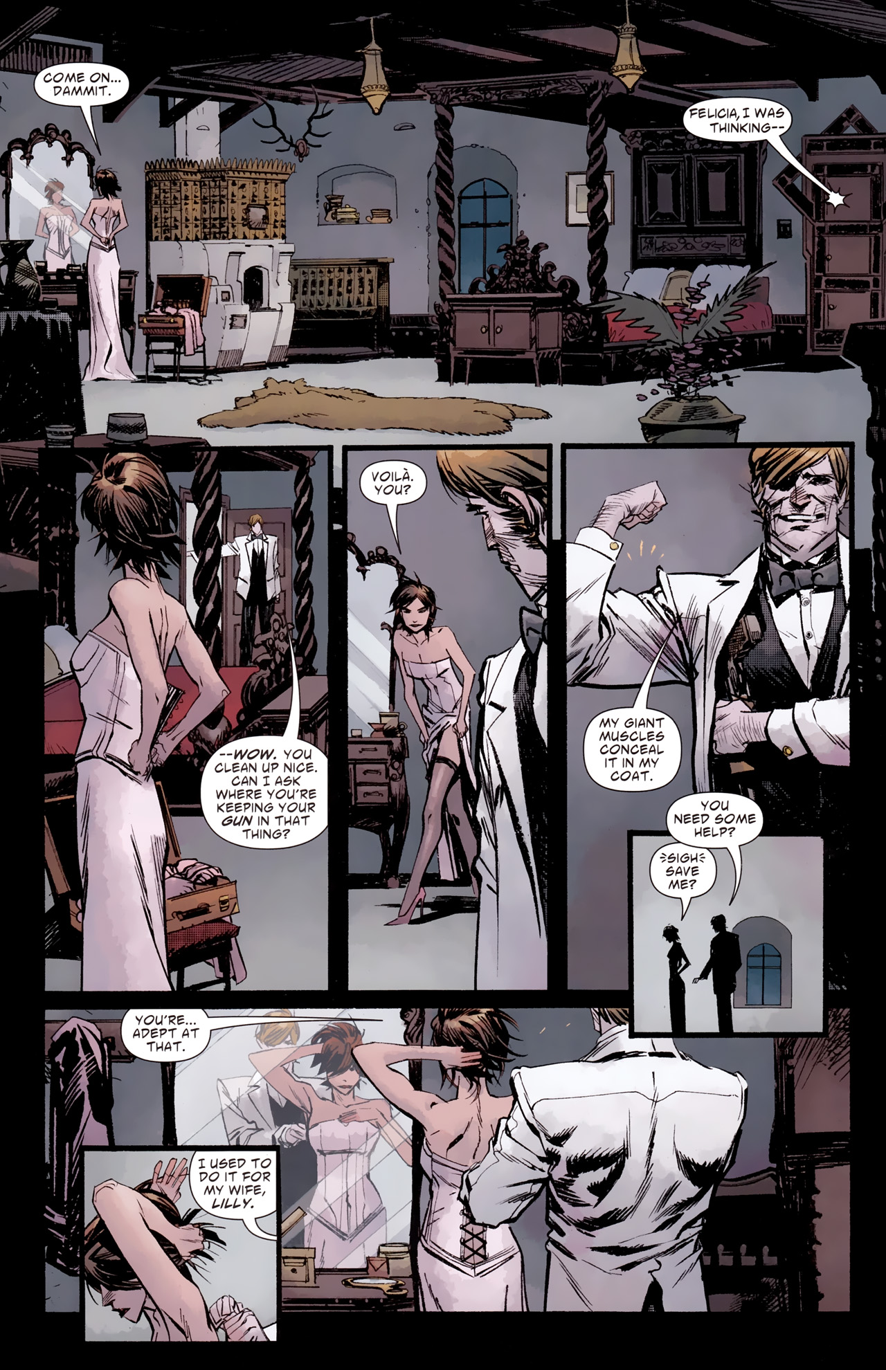 Read online American Vampire: Survival of the Fittest comic -  Issue #2 - 16