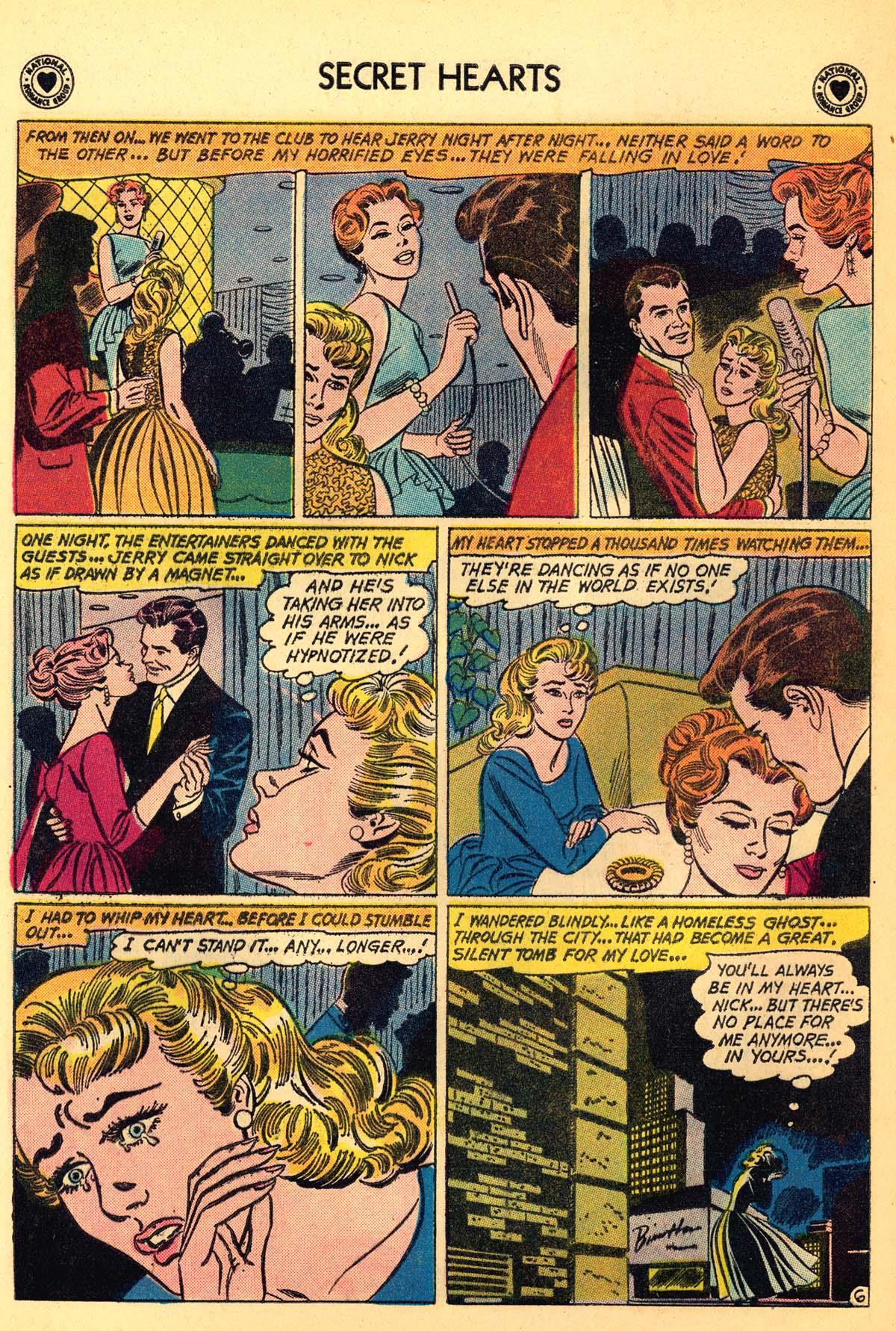 Read online Secret Hearts comic -  Issue #66 - 32