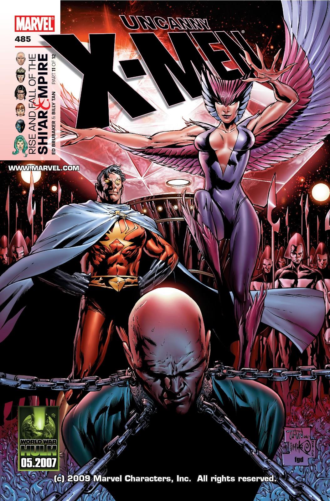 Uncanny X-Men (1963) issue 485 - Page 1