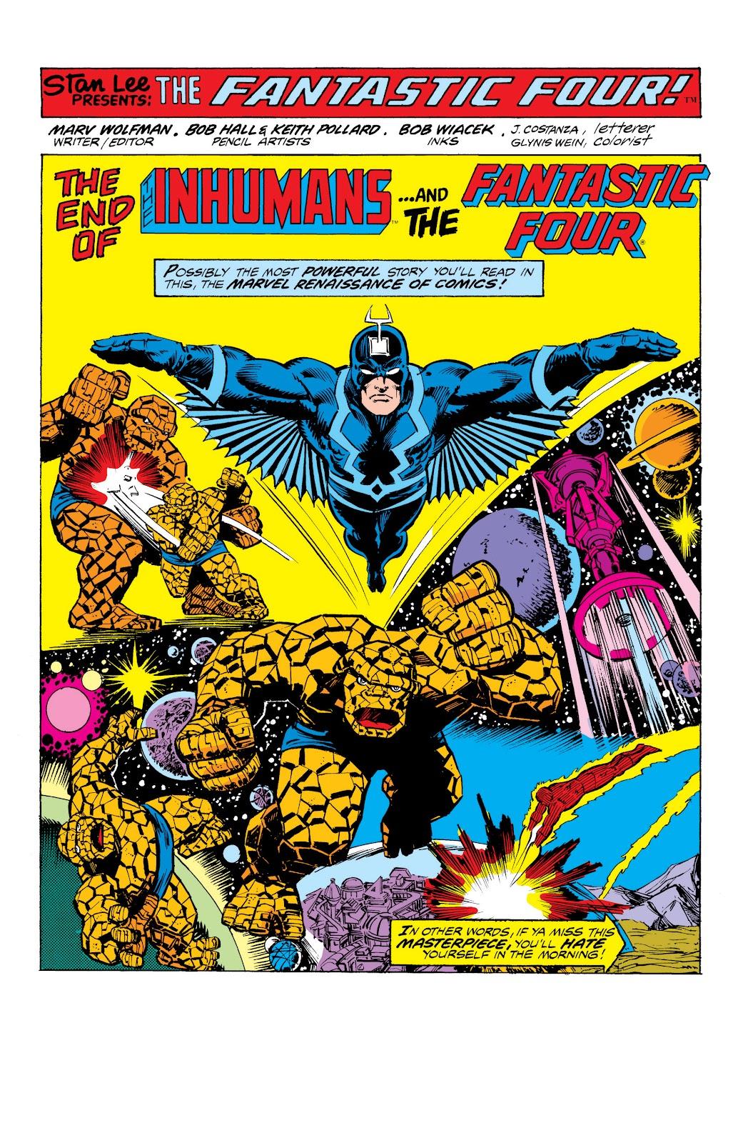 Read online Marvel Masterworks: The Inhumans comic -  Issue # TPB 2 (Part 3) - 47