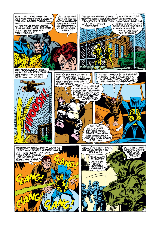 Read online Amazing Adventures (1970) comic -  Issue #17 - 22