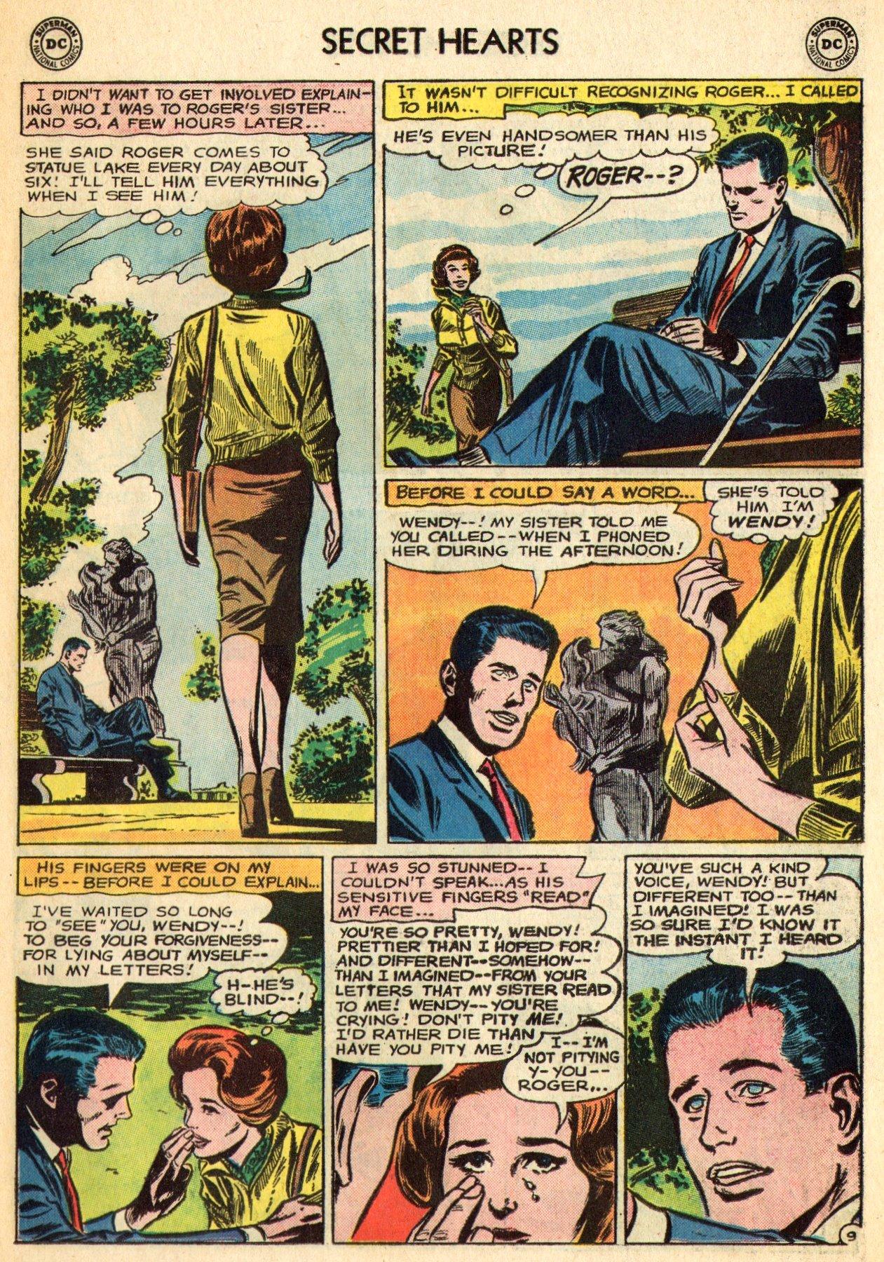 Read online Secret Hearts comic -  Issue #96 - 31