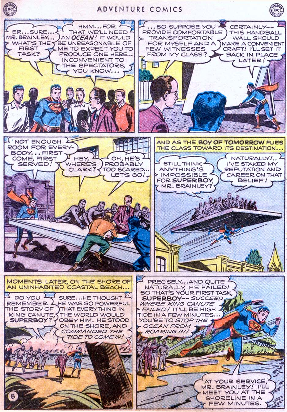 Read online Adventure Comics (1938) comic -  Issue #158 - 10