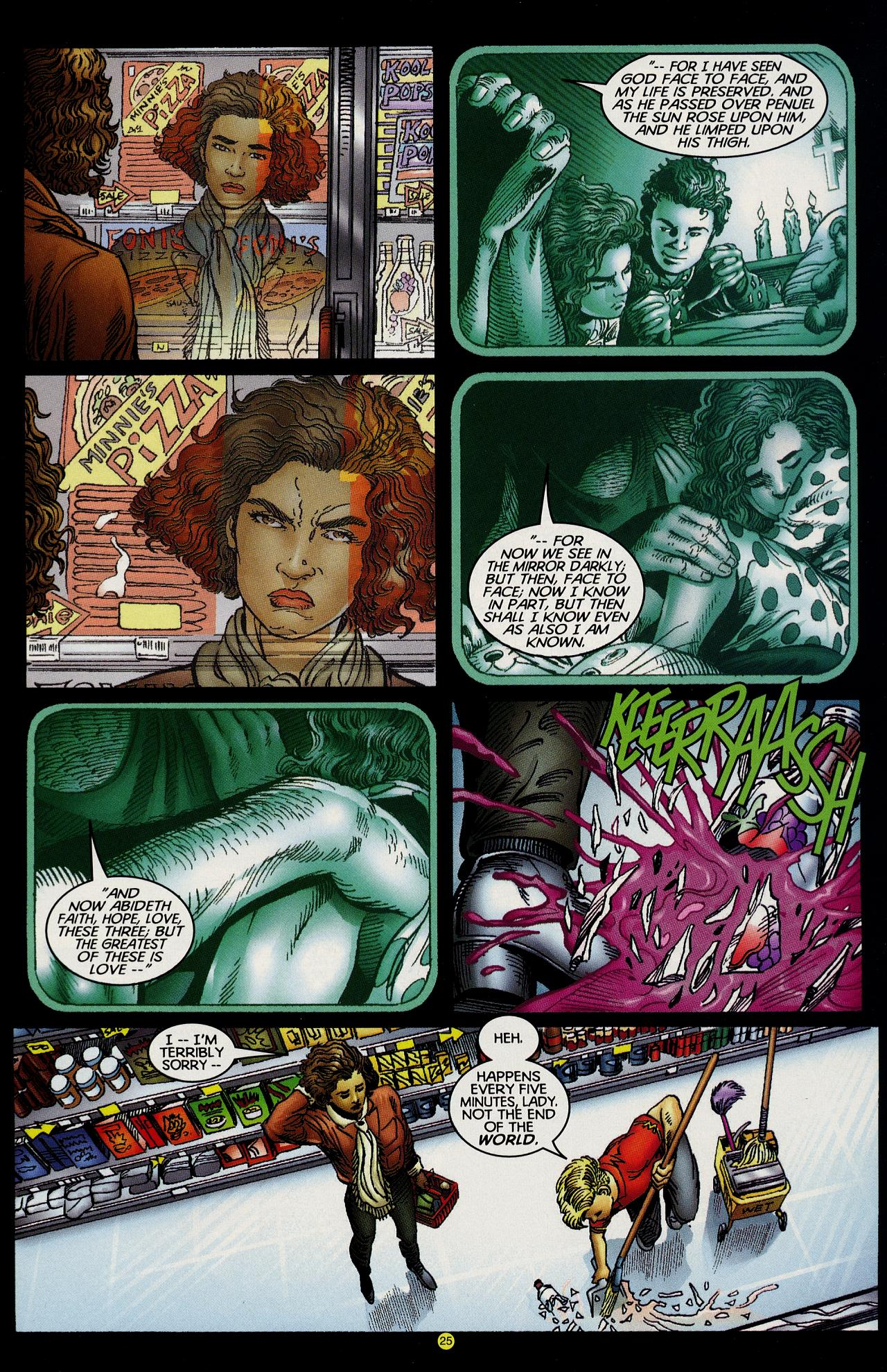 Read online Solar, Man of the Atom: Hell on Earth comic -  Issue #1 - 22
