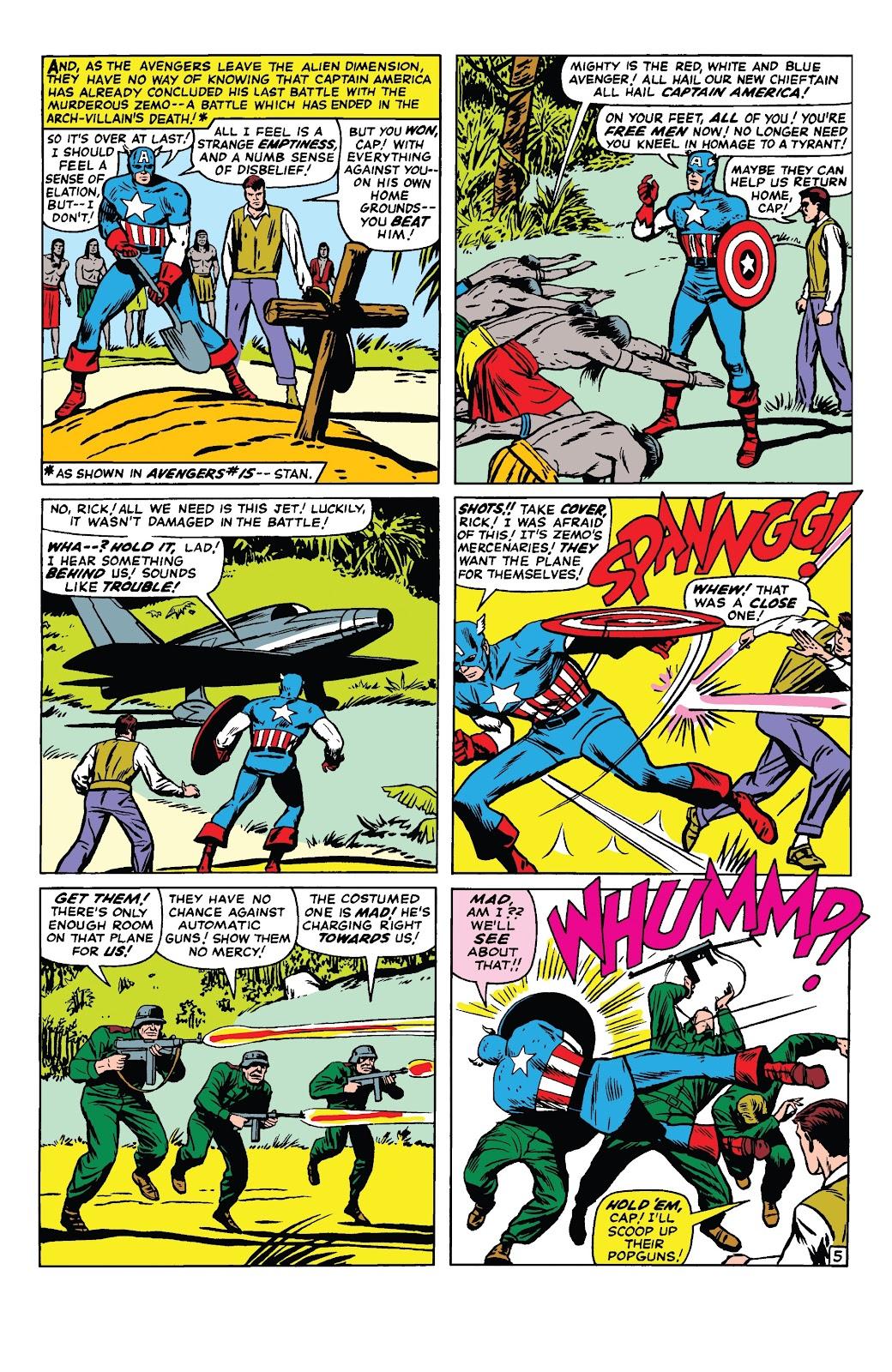 Read online Marvel Tales: Avengers comic -  Issue # Full - 10