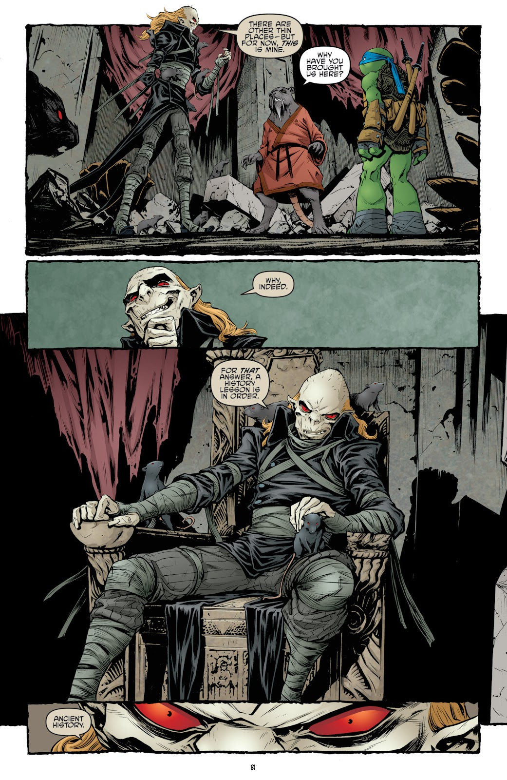 Read online Teenage Mutant Ninja Turtles: The IDW Collection comic -  Issue # TPB 4 (Part 3) - 88